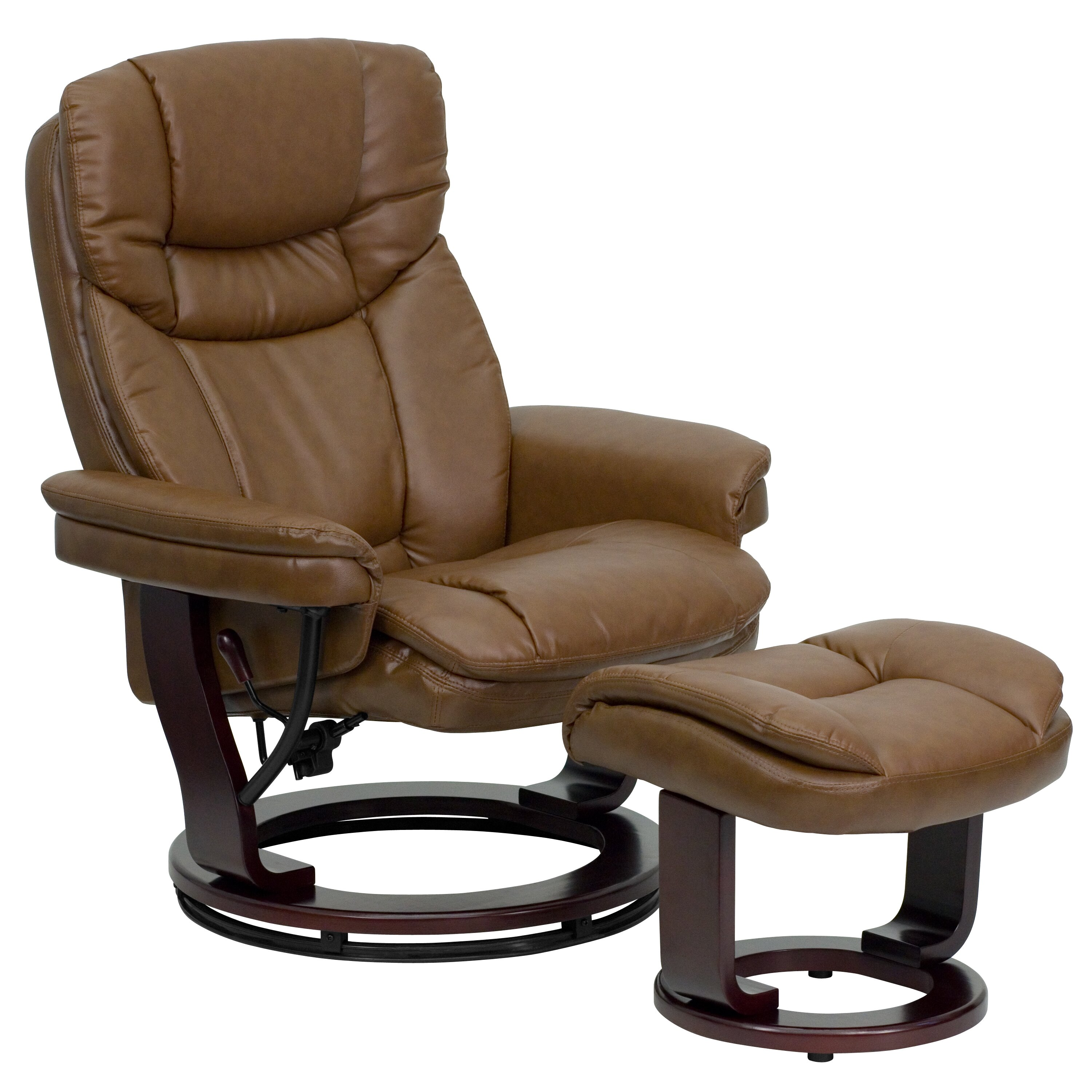Contemporary Reclining Chairs : Leather Reclining Chair together with Modern Leather Recliner Chairs ...