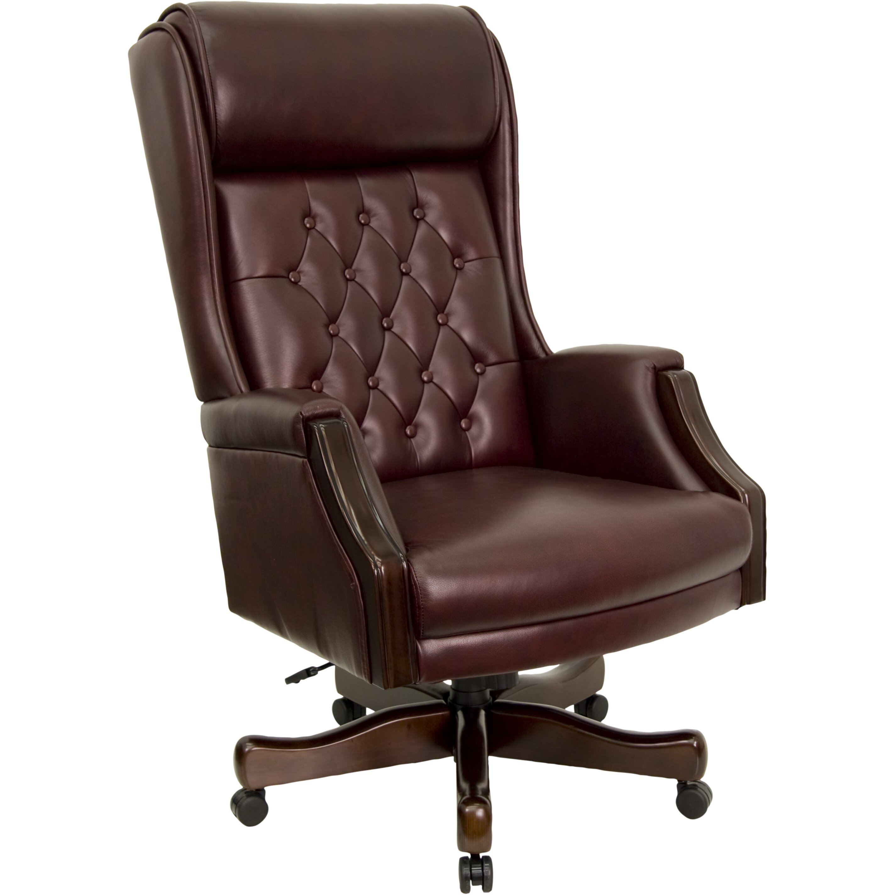 flash furniture high back leather executive office chair. Black Bedroom Furniture Sets. Home Design Ideas