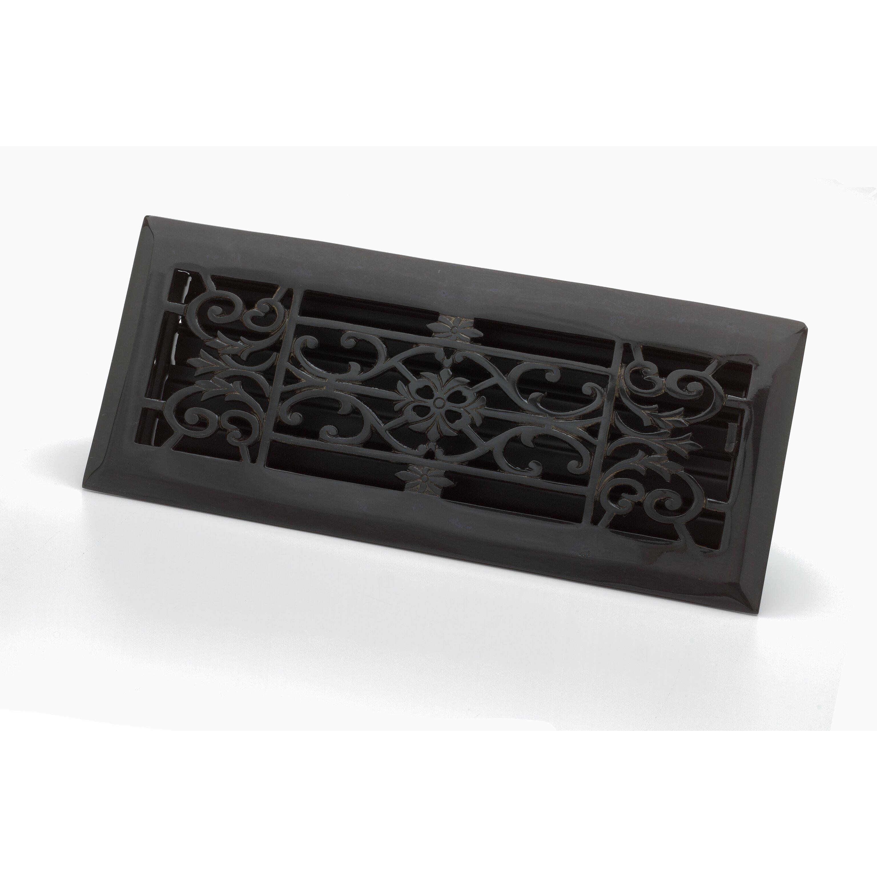 Zoroufy 4 x 12 decorative floor register reviews wayfair Decorative floor registers