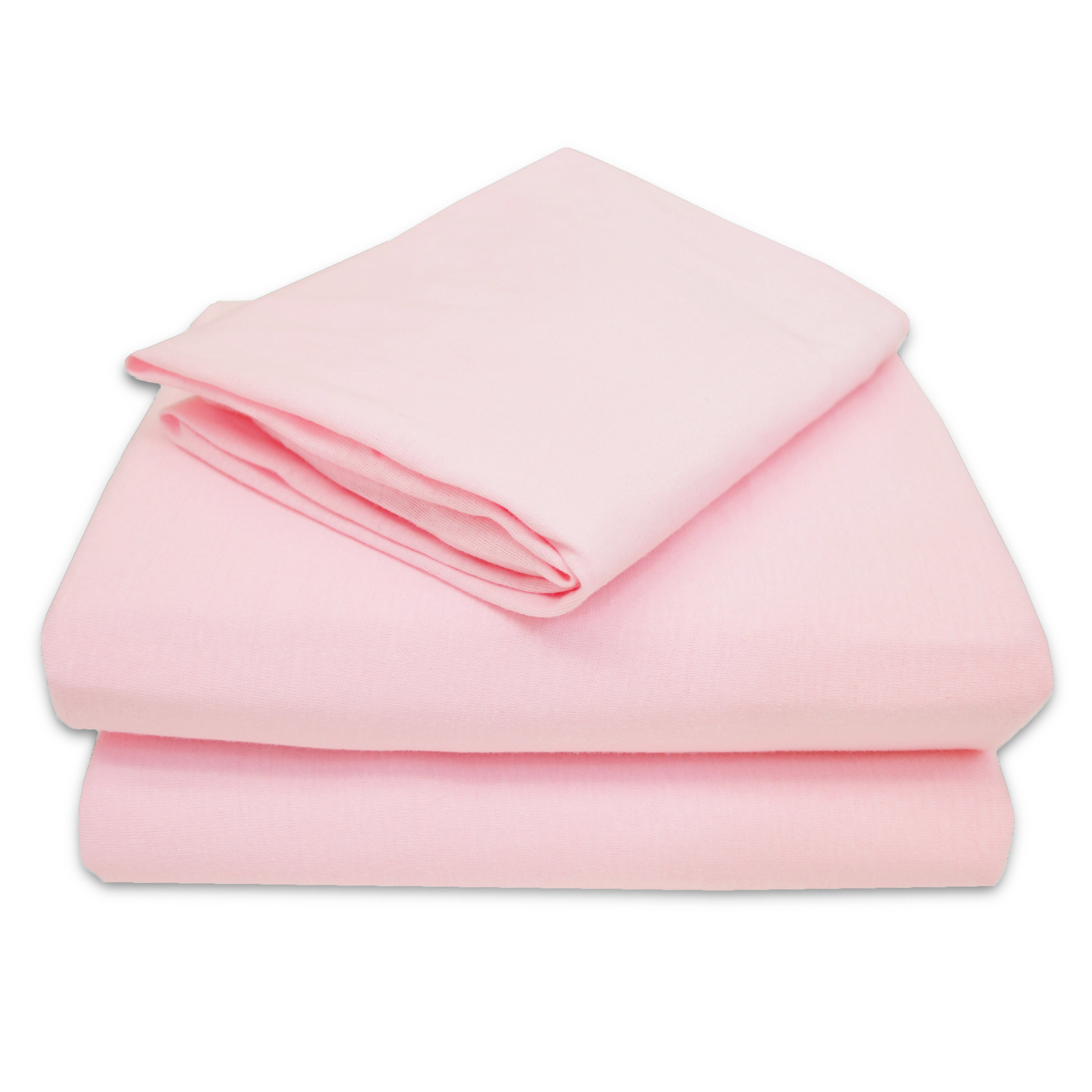 American Baby Company Jersey 3 Piece Toddler Sheet Set