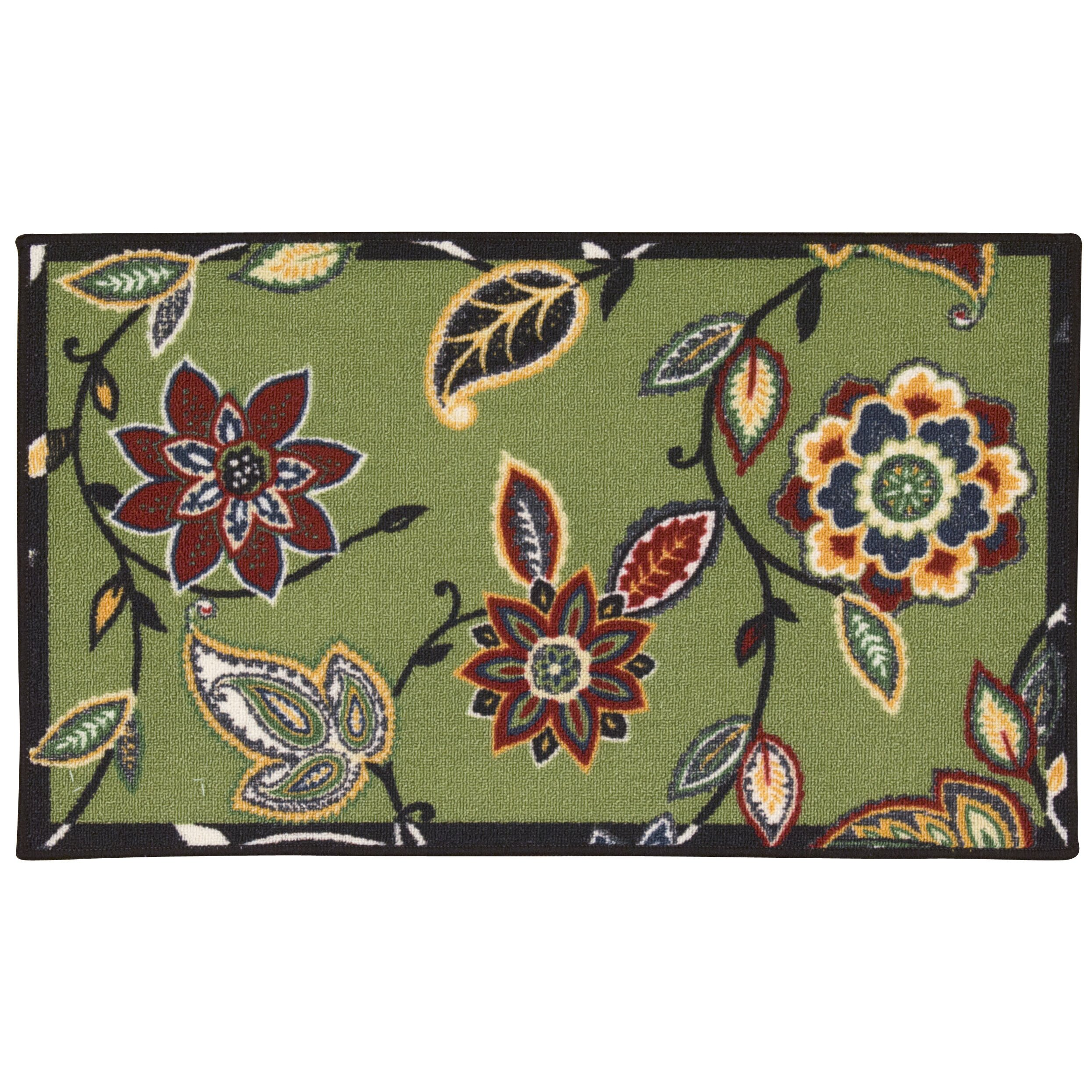 Waverly Fancy Free Amp Easy Quot Lively Trail Quot Celery Accent Rug