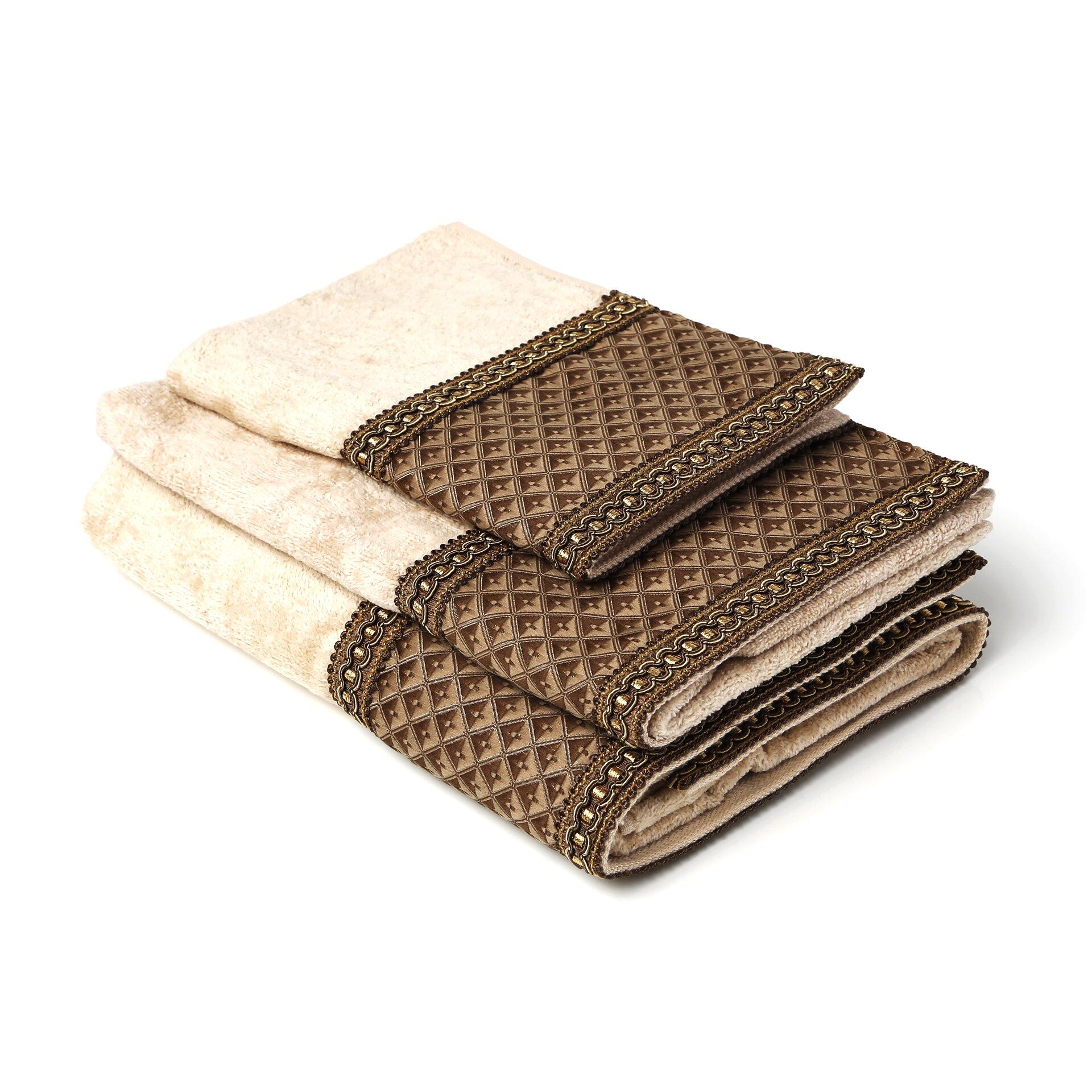 Sherry Kline Amore Decorative 3 Piece Towel Set & Reviews ...