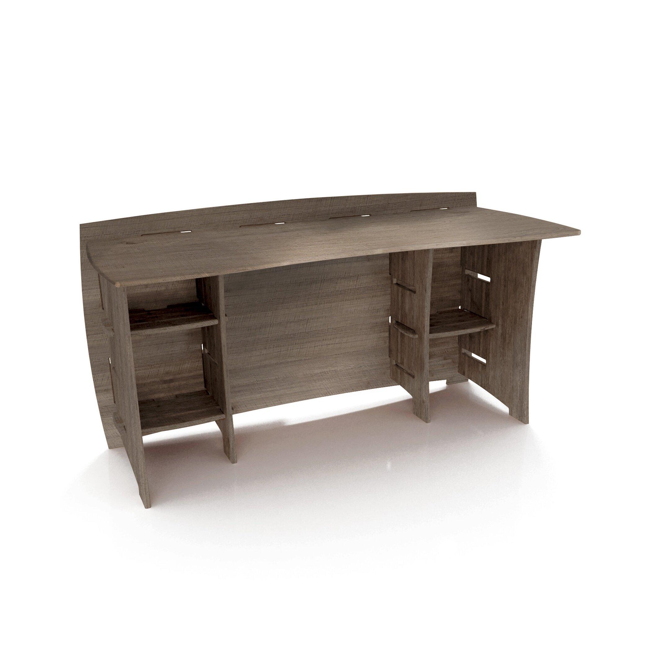 Driftwood Computer Desk Wayfair Supply
