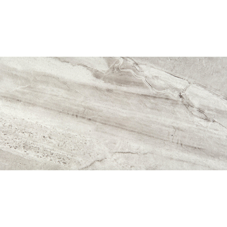 """Bianco Porcelain Tile: Emser Tile Eurasia 12"""" X 24"""" Porcelain Tile In Bianco"""