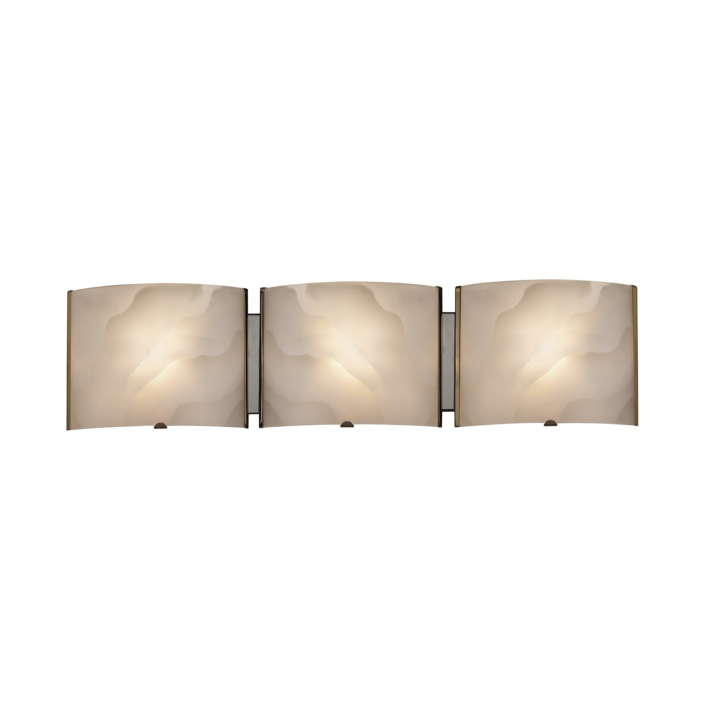 Chloe Lighting Transitional 3 Light Ampere Bath Vanity Light & Reviews Wayfair