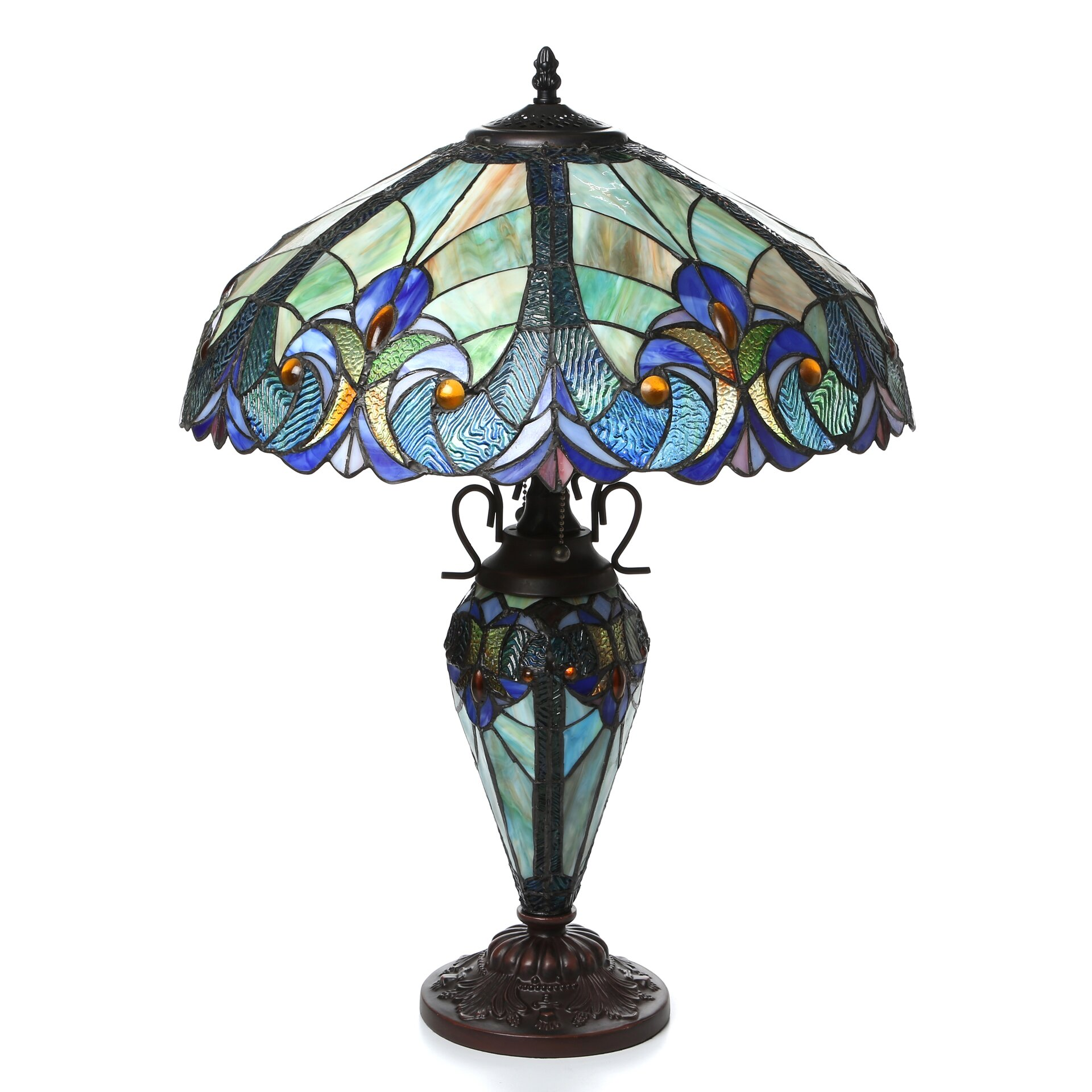 Tiffany & Tiffany Style Table Lamps