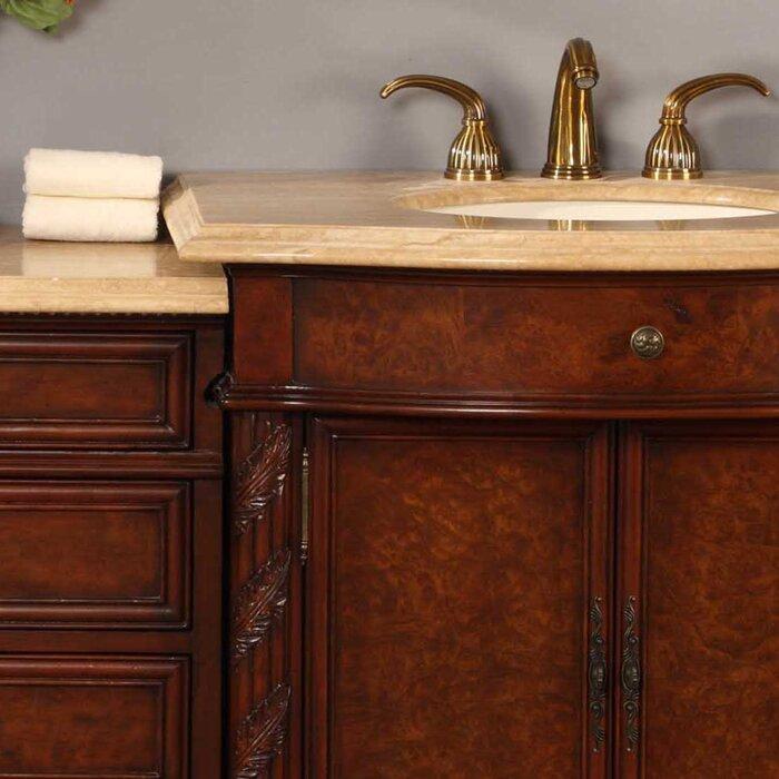 Silkroad exclusive victoria 52 single bathroom vanity set reviews wayfair for Silkroad bathroom vanity reviews