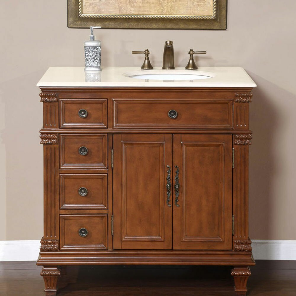 Exclusive Esther 36quot; Single Bathroom Vanity Set amp; Reviews  Wayfair