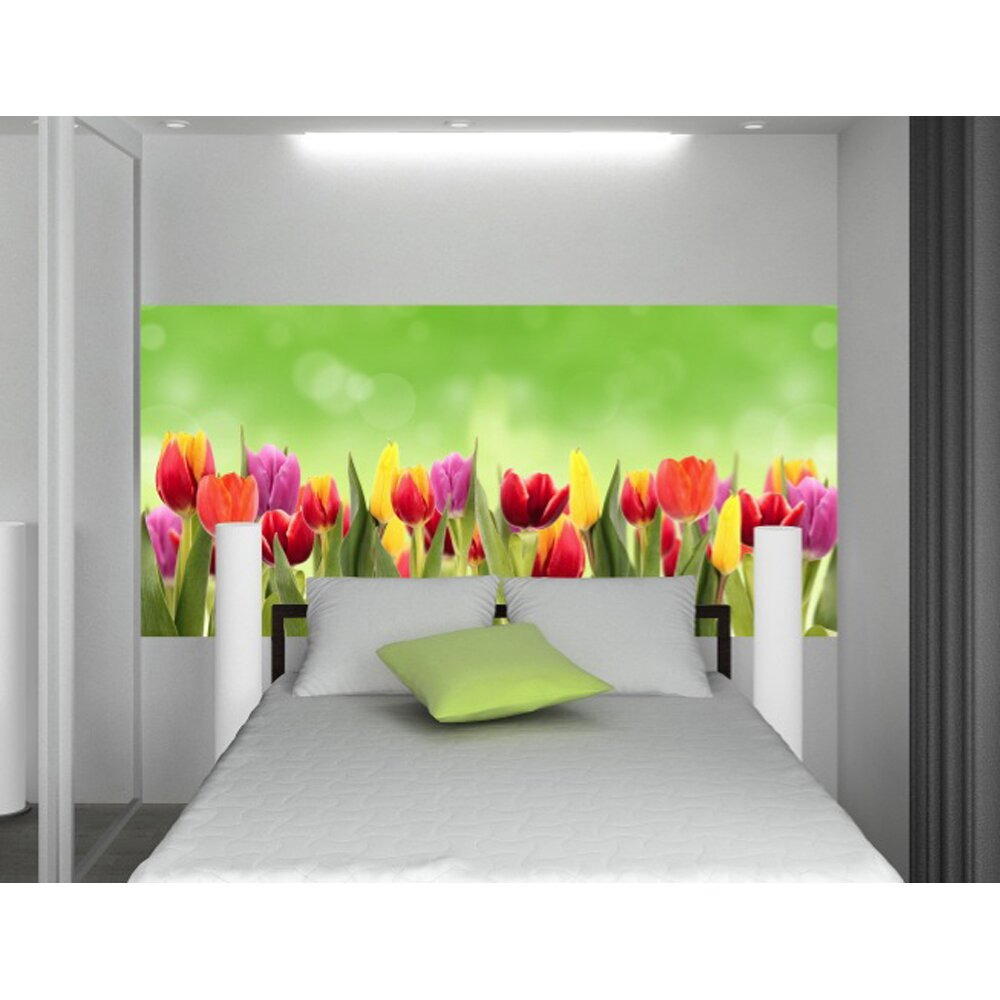 home decor line flowers wall mural wayfair