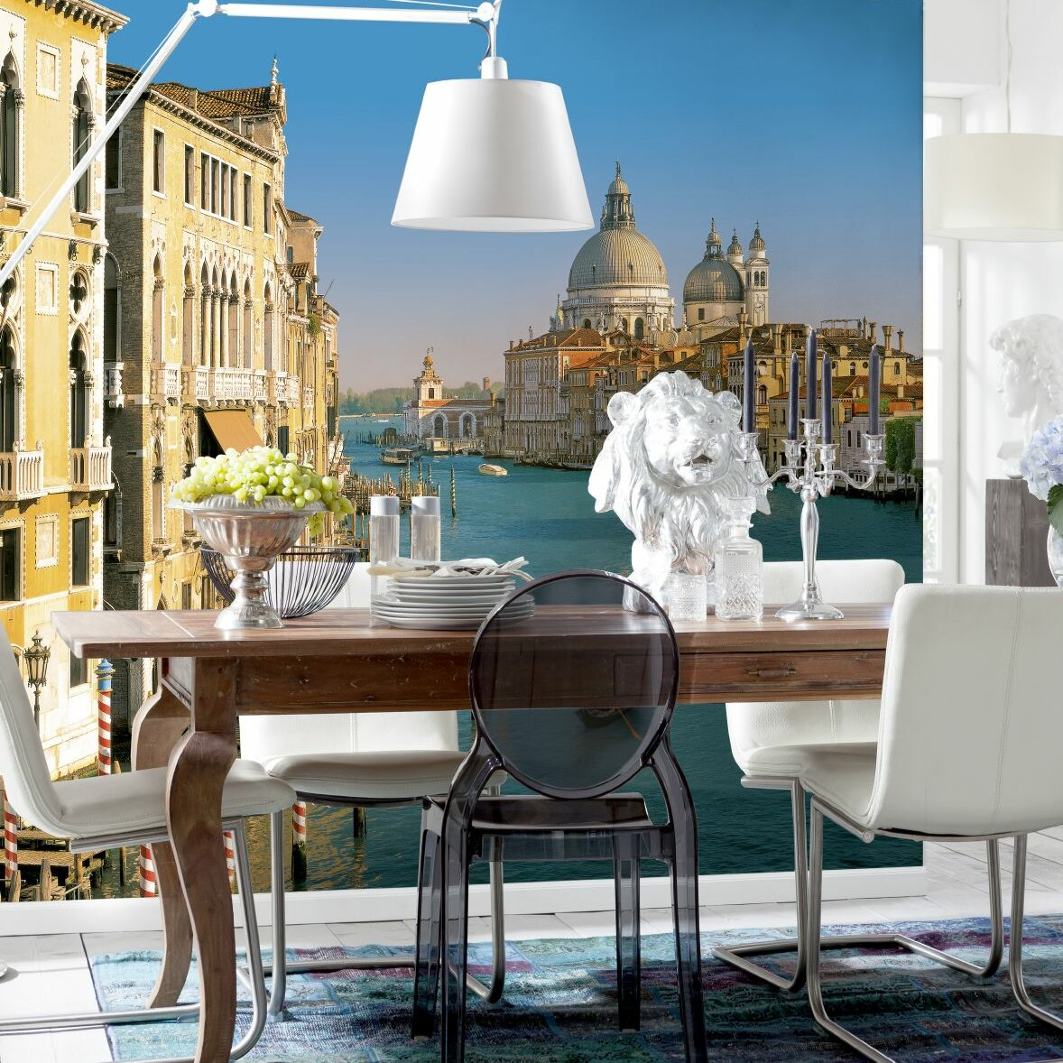 Komar venezia wall mural wayfair for Brewster home fashions wall mural
