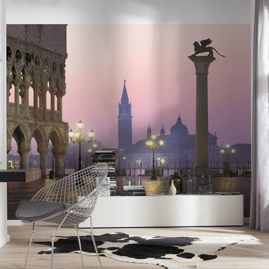 Brewster home fashions komar san marco wall mural for Brewster wall mural