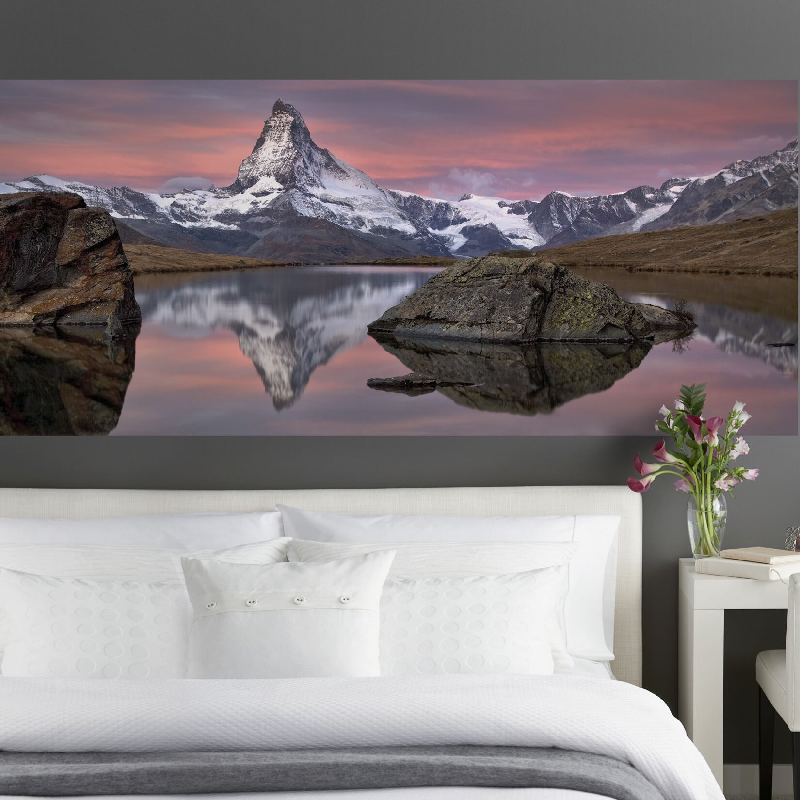 Komar matterhorn wall mural wayfair for Brewster birch wall mural