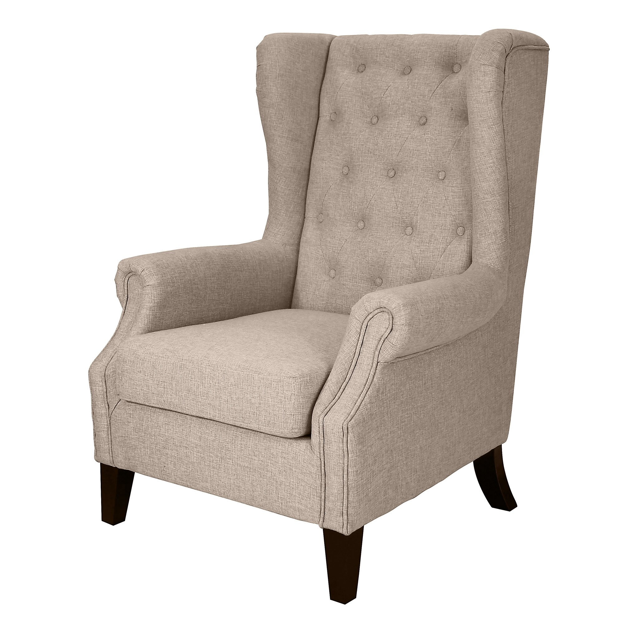 Dorothy Upholstered Wingback Chair Wayfair