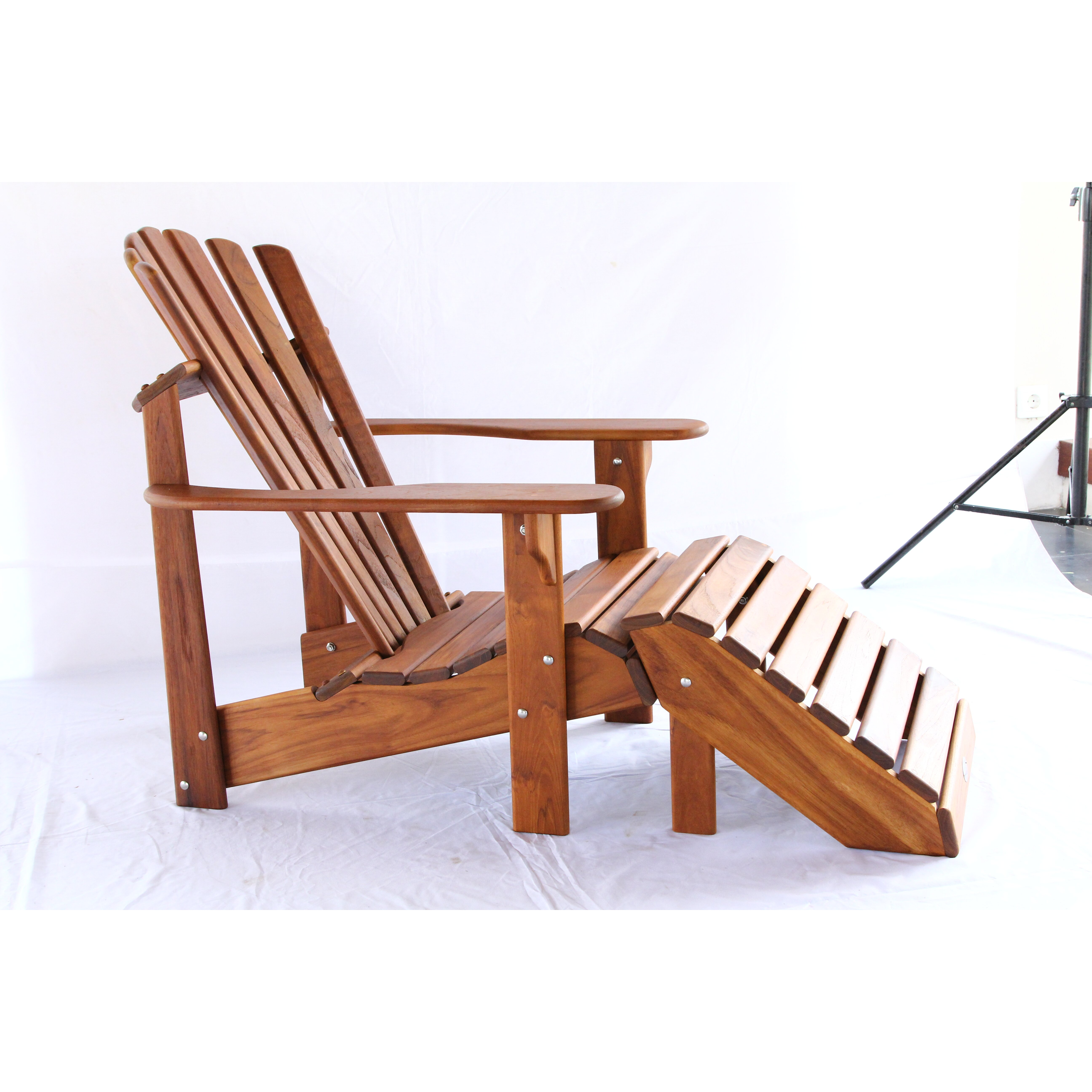 Hyre s Country Signature Teak Adirondack Chair & Reviews