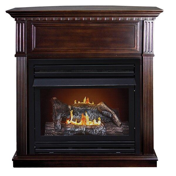 duraheat lincolnshire intermediate dual fuel gas fireplace