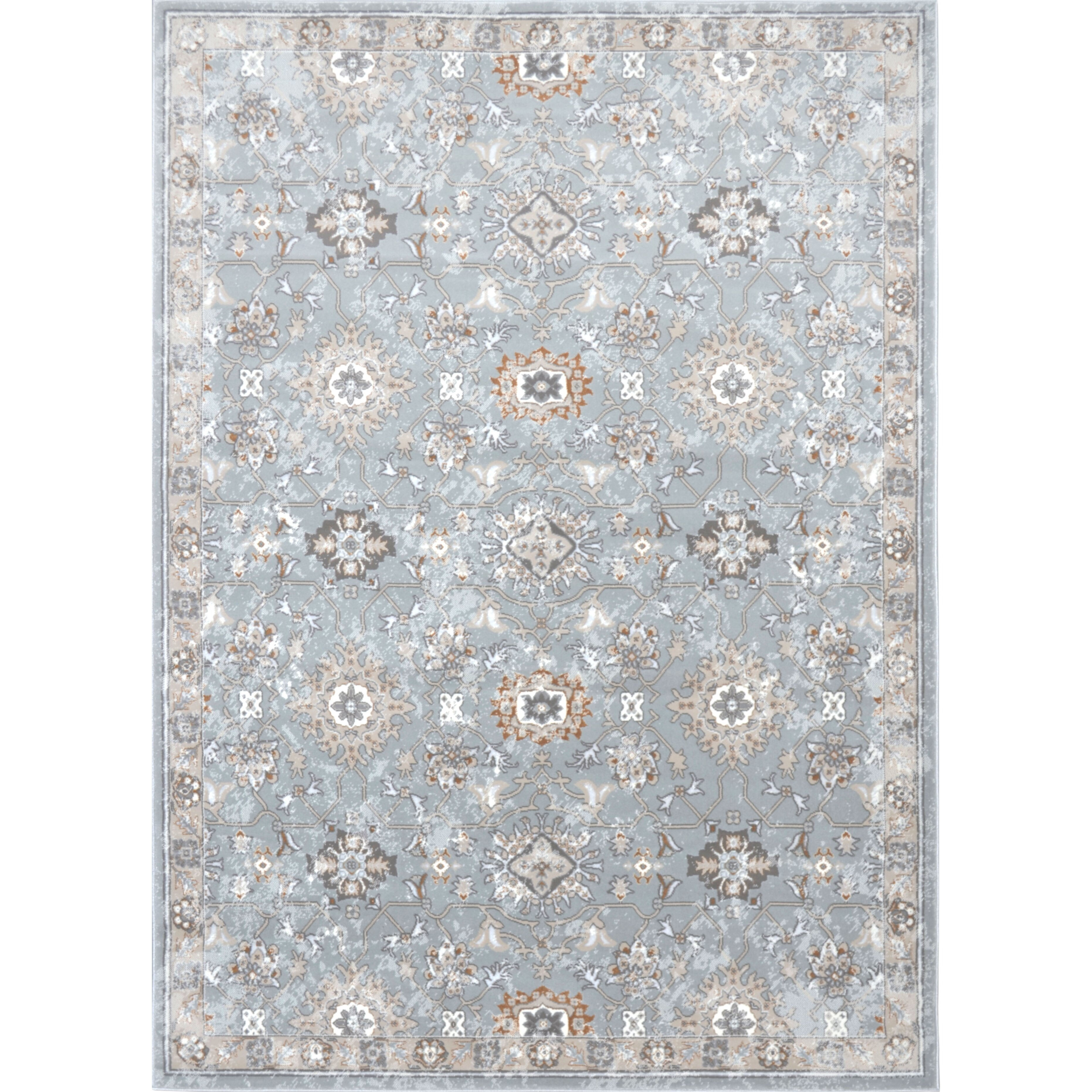 Airmont soft blue area rug wayfair for Soft area rugs