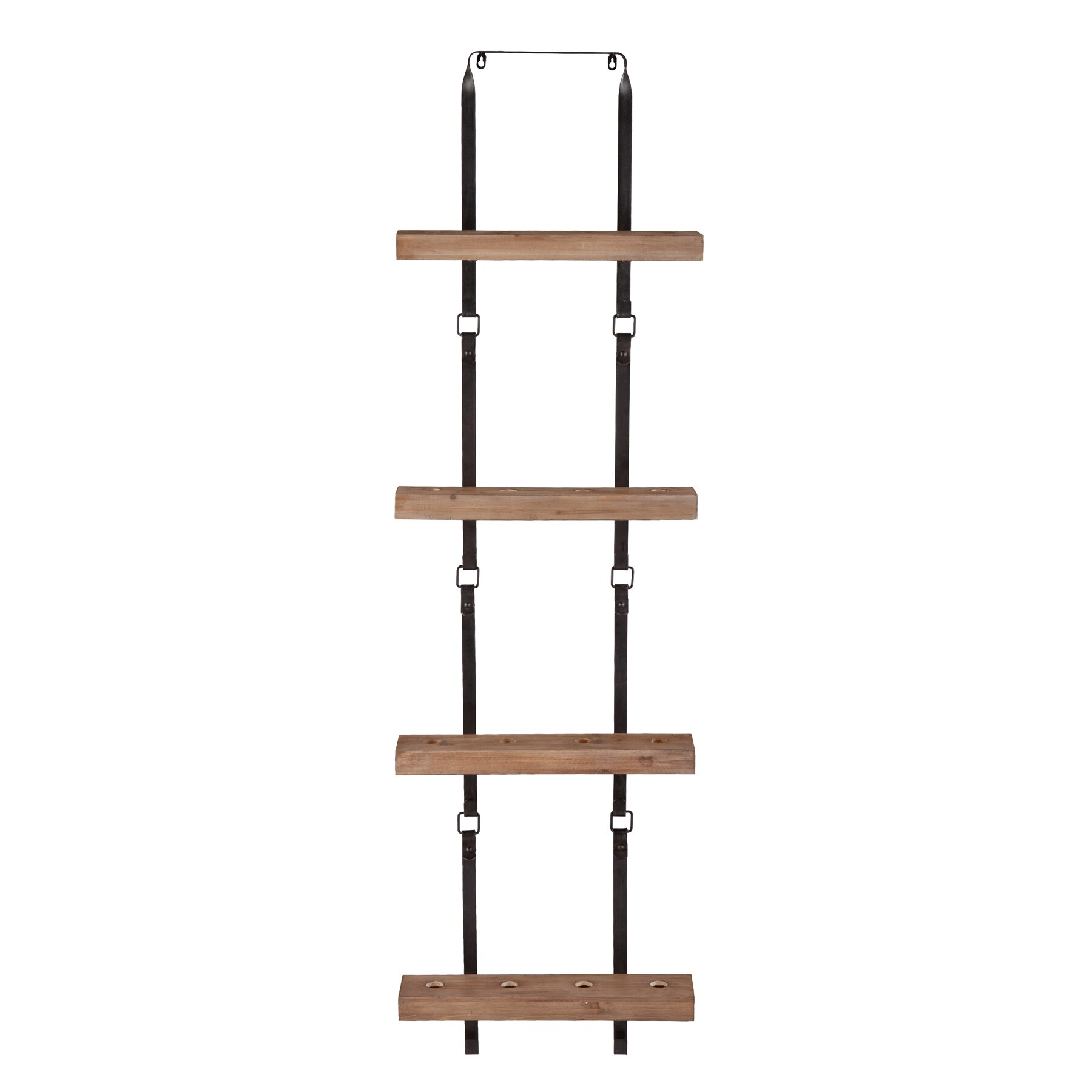 wildon home hadley 16 wine bottle wall mount wine rack