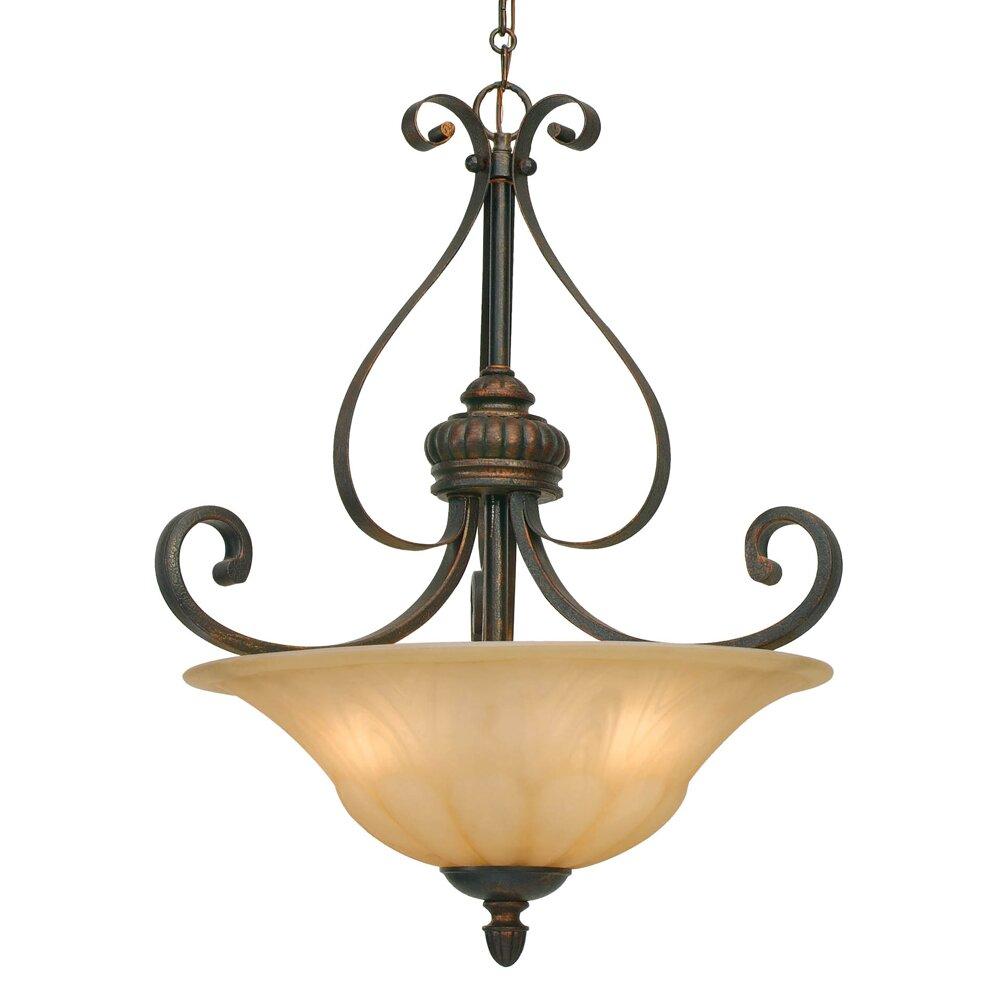 lighting ceiling lights bowl or inverted pendants wildon home. Black Bedroom Furniture Sets. Home Design Ideas