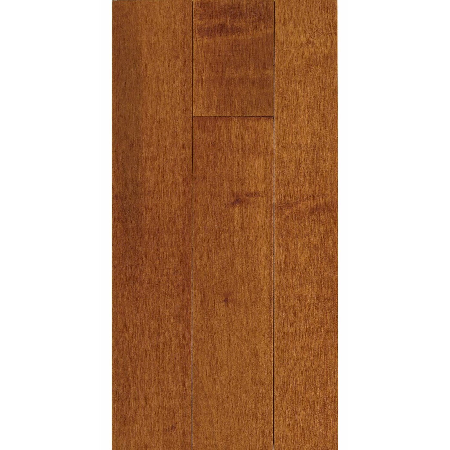 "2-1/4"" Solid Maple Hardwood Flooring In Cinnamon"