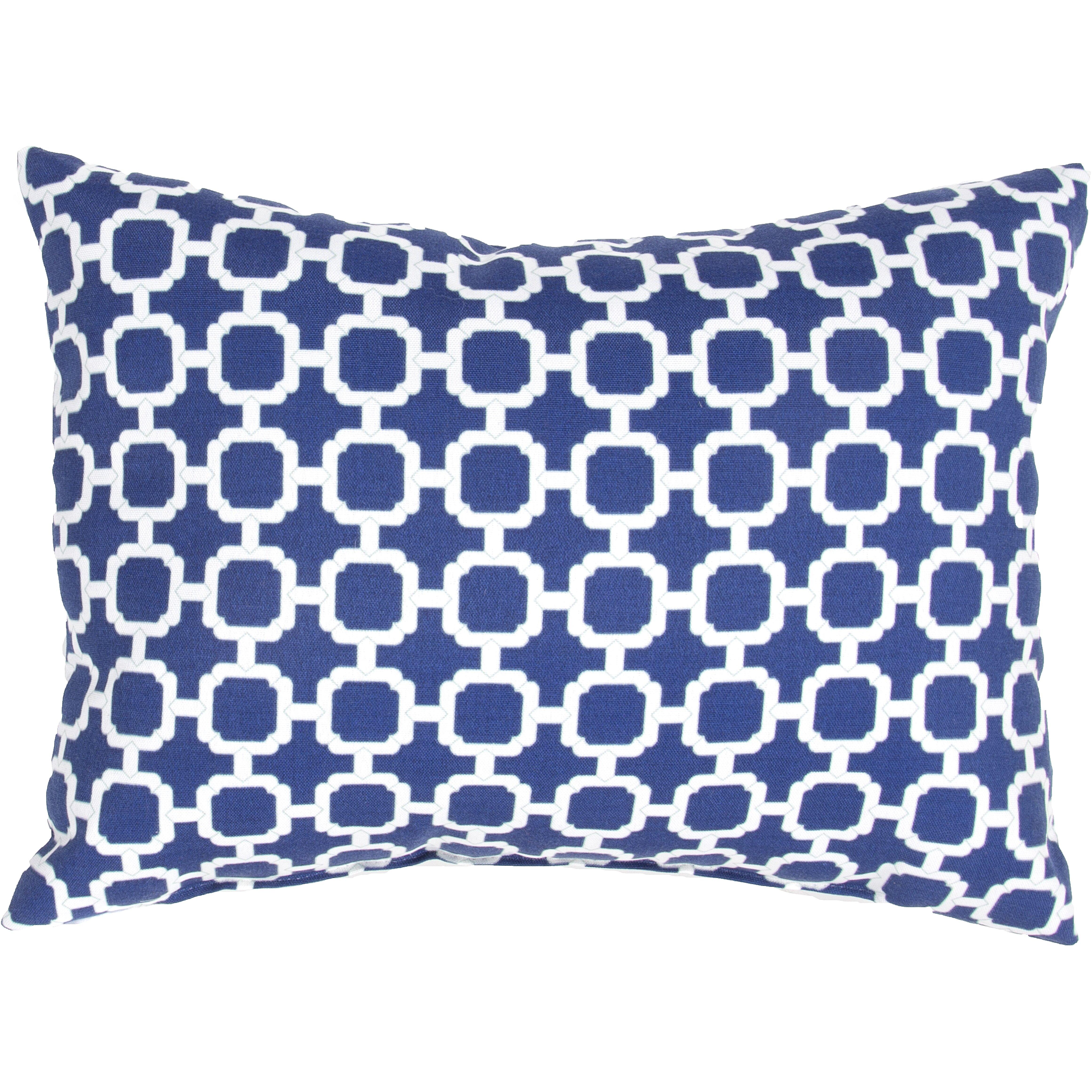 Wildon Home Geometric Indoor Outdoor Throw Pillow