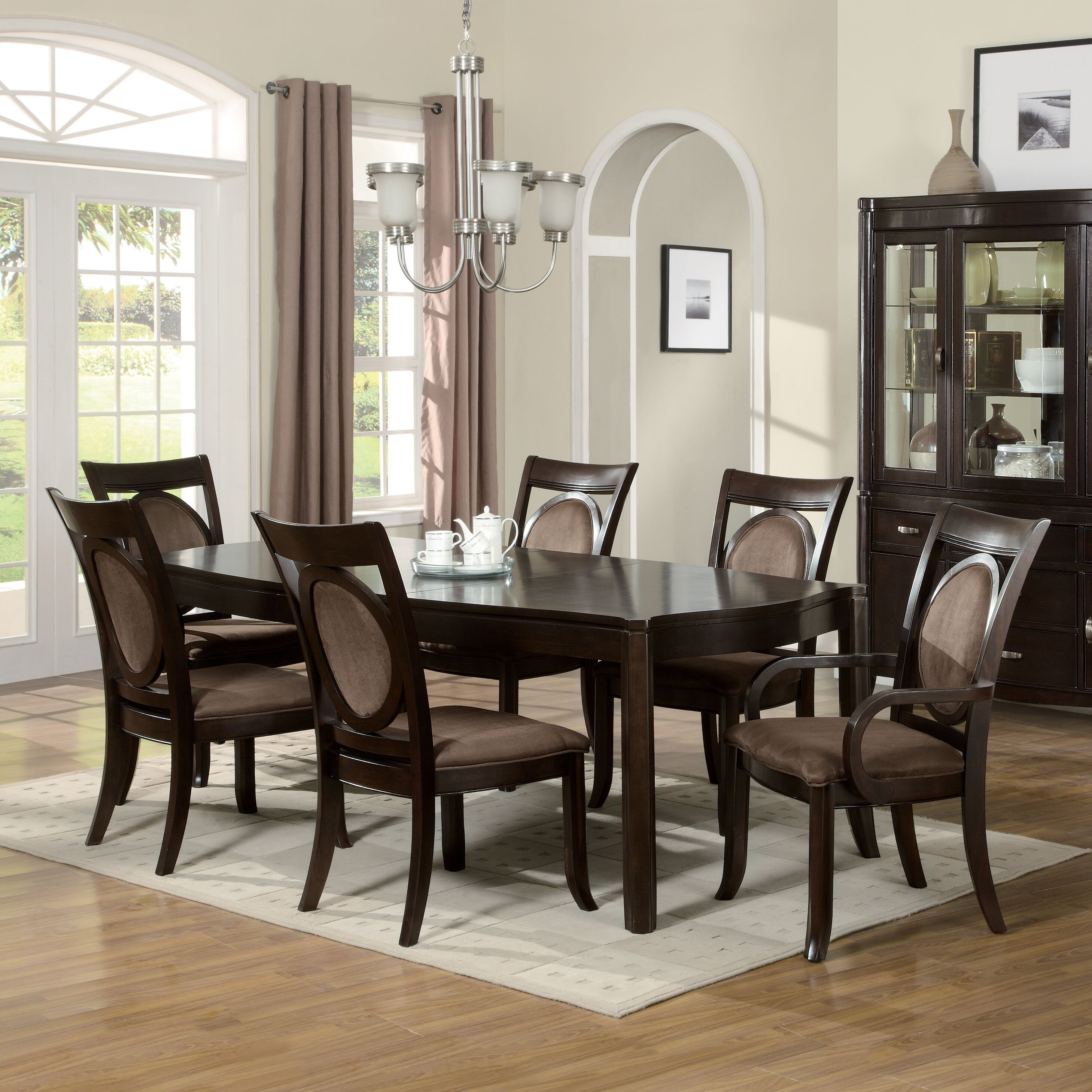 100 dining room 7 piece sets dovewood dining room for Wildon home dining