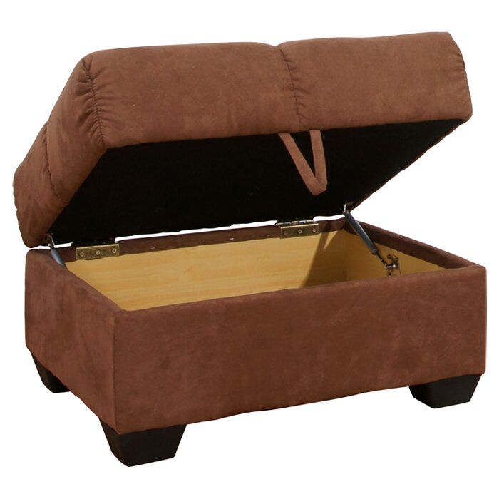 gold sparrow phila storage sleeper sofa with ottoman