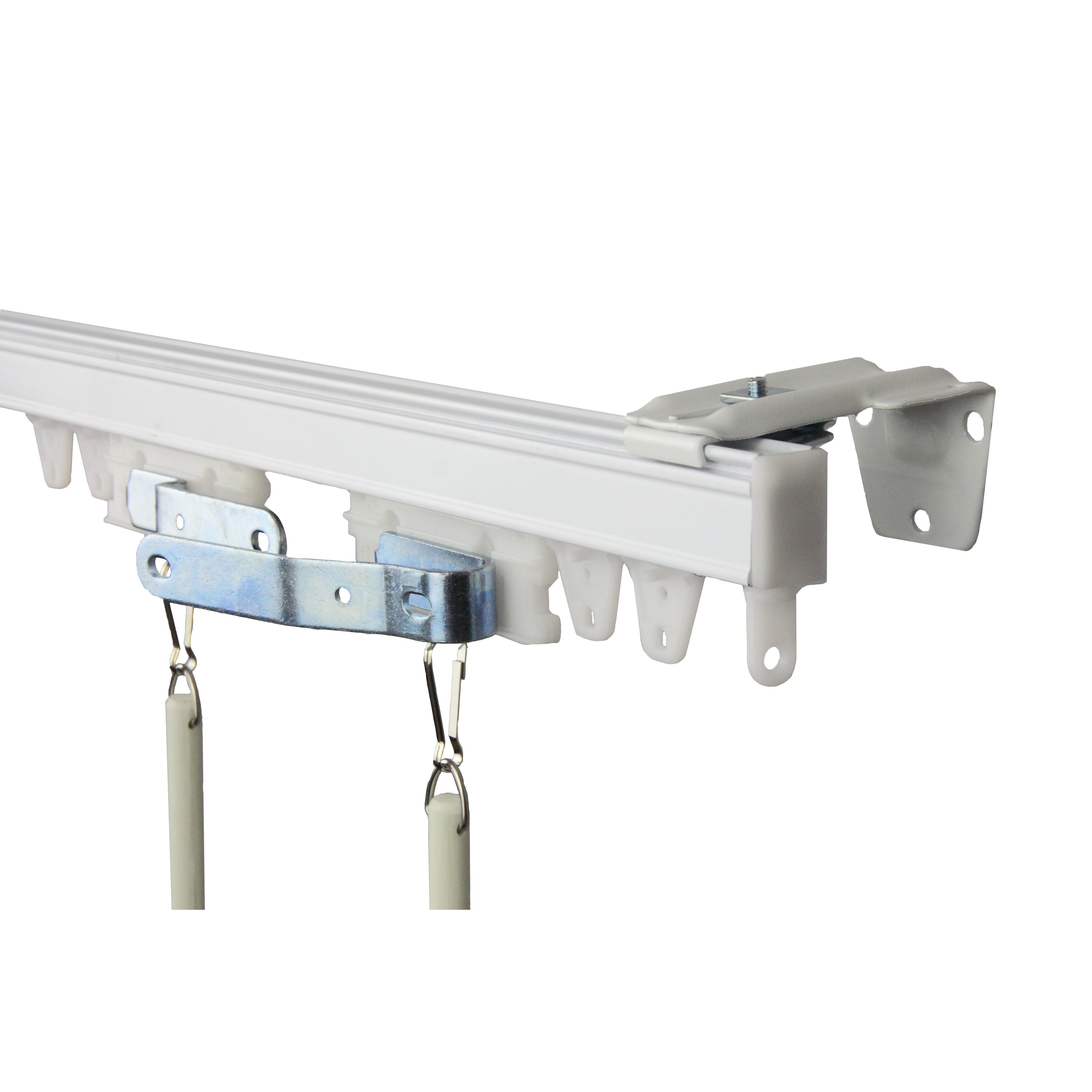 Rod Desyne Commercial Double Curtain Track Kit & Reviews