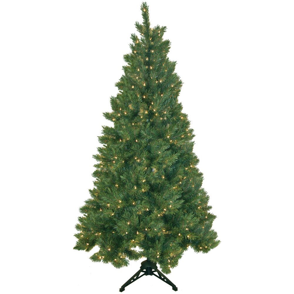 Pre Lit Half Christmas Tree