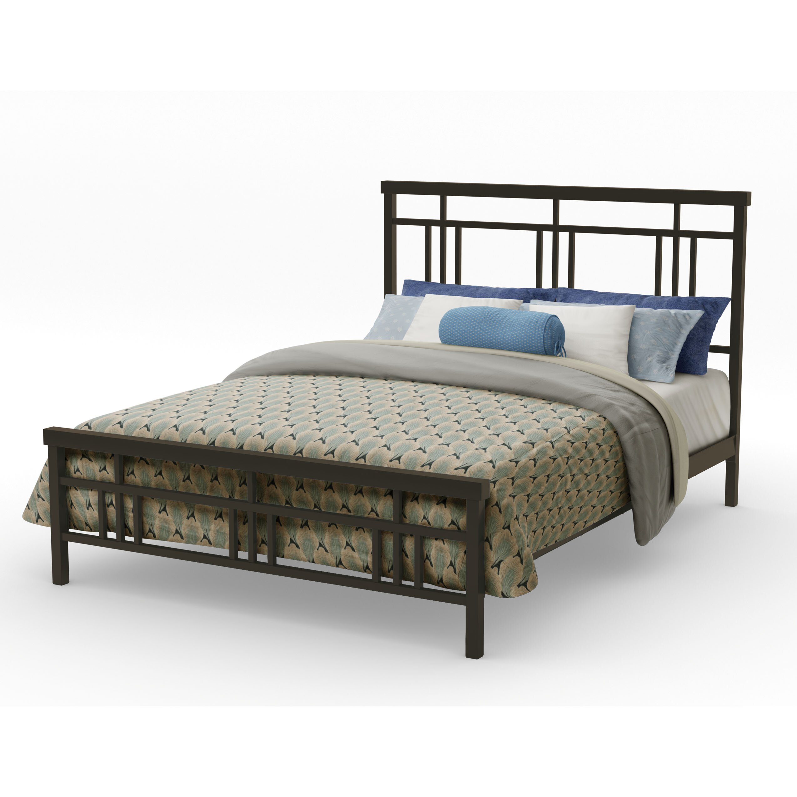 Amisco Cottage Metal Headboard And Footboard Amp Reviews