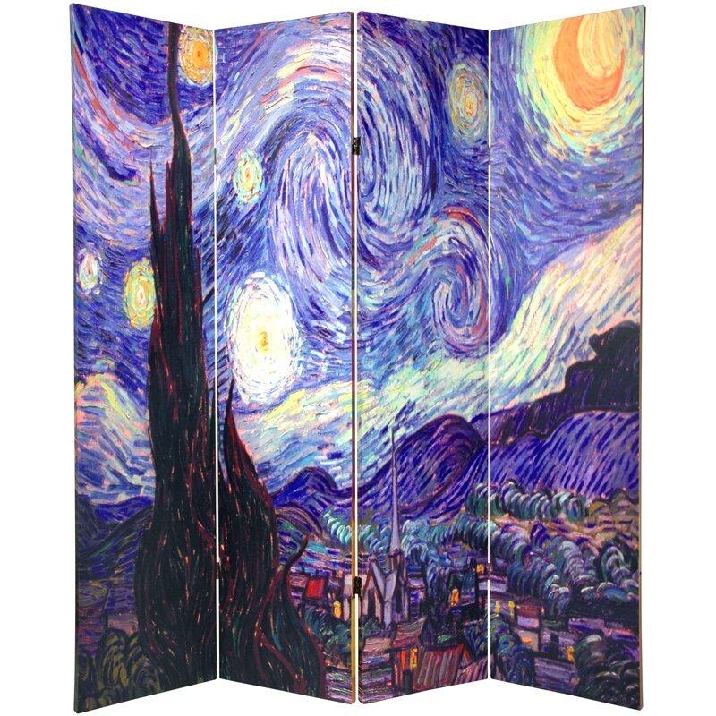 Van Gogh Room Divider