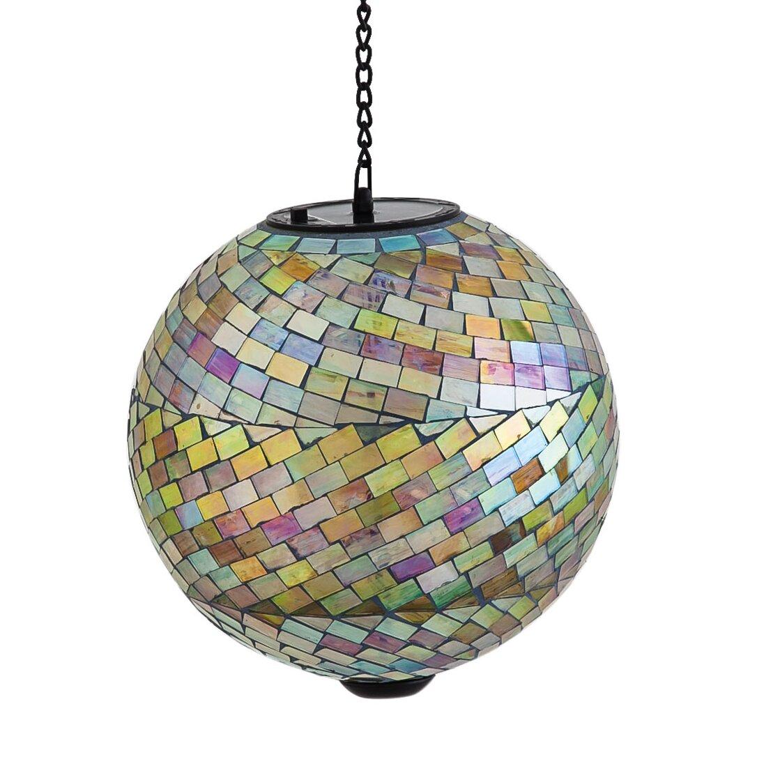 Evergreen Enterprises Inc Glistening Mosaic Hanging Solar