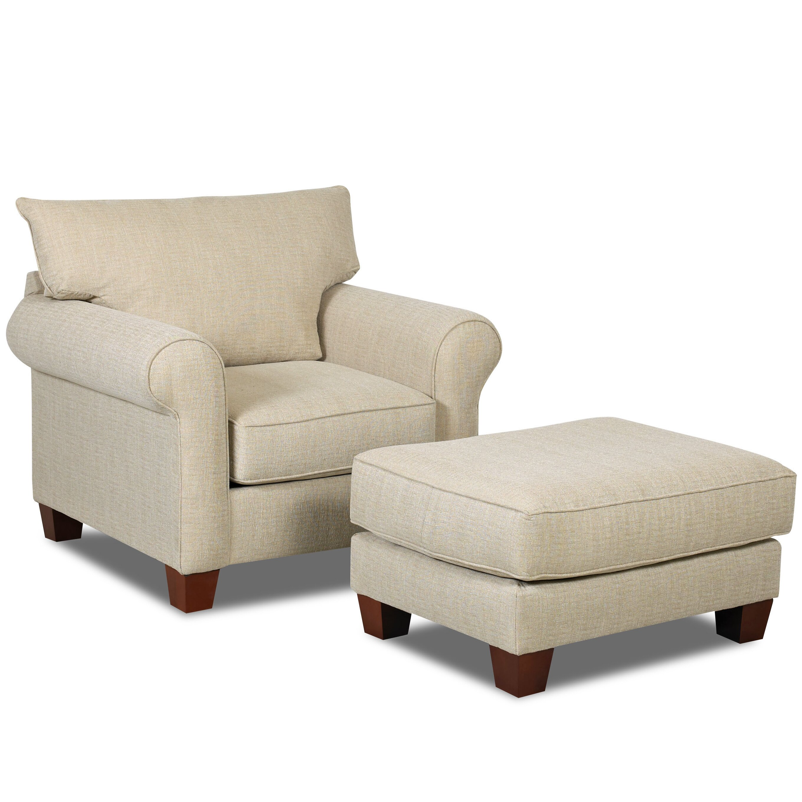 Wheelock Arm Chair and Ottoman | Wayfair