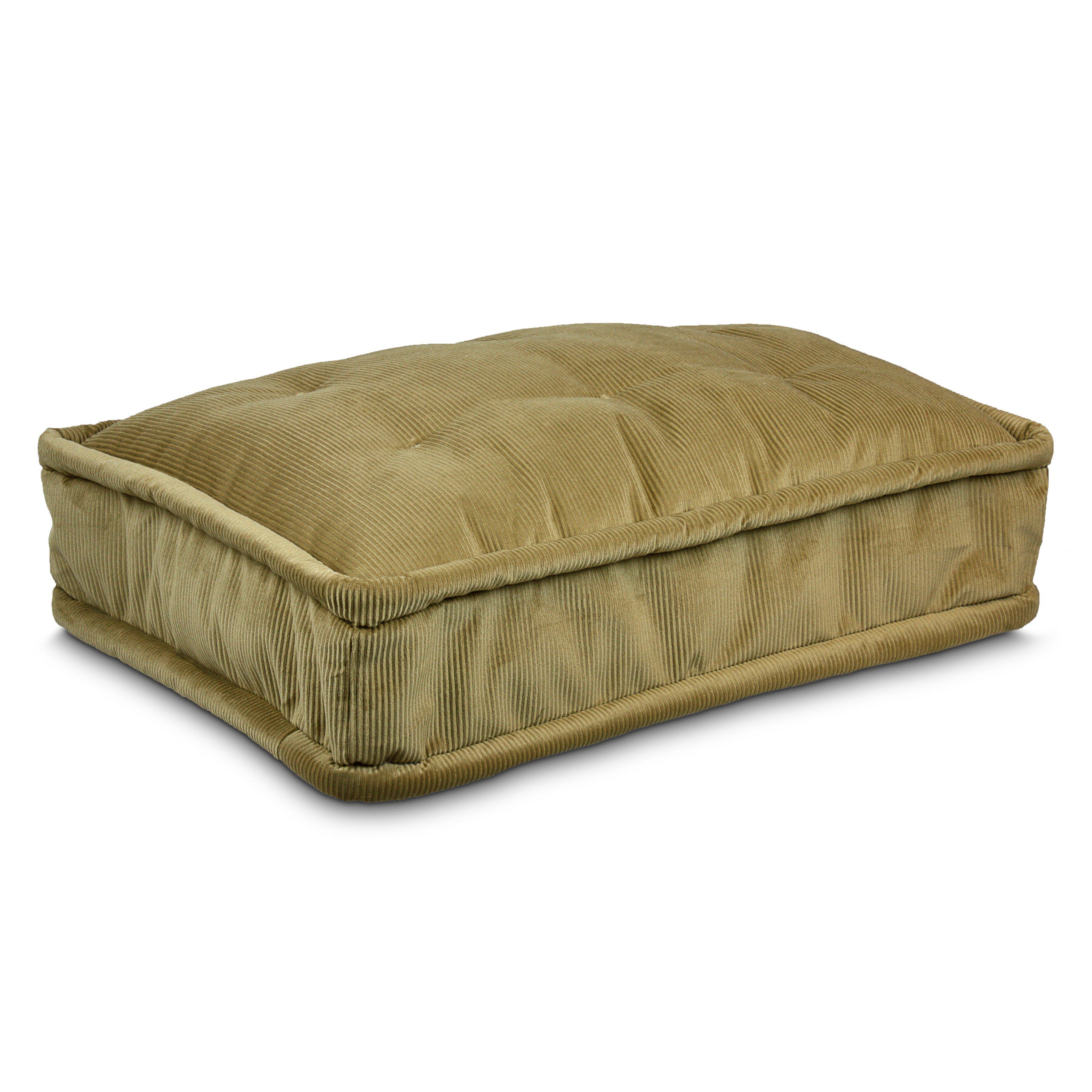 Luxury pillow top pet bed wayfair for Best luxury dog beds