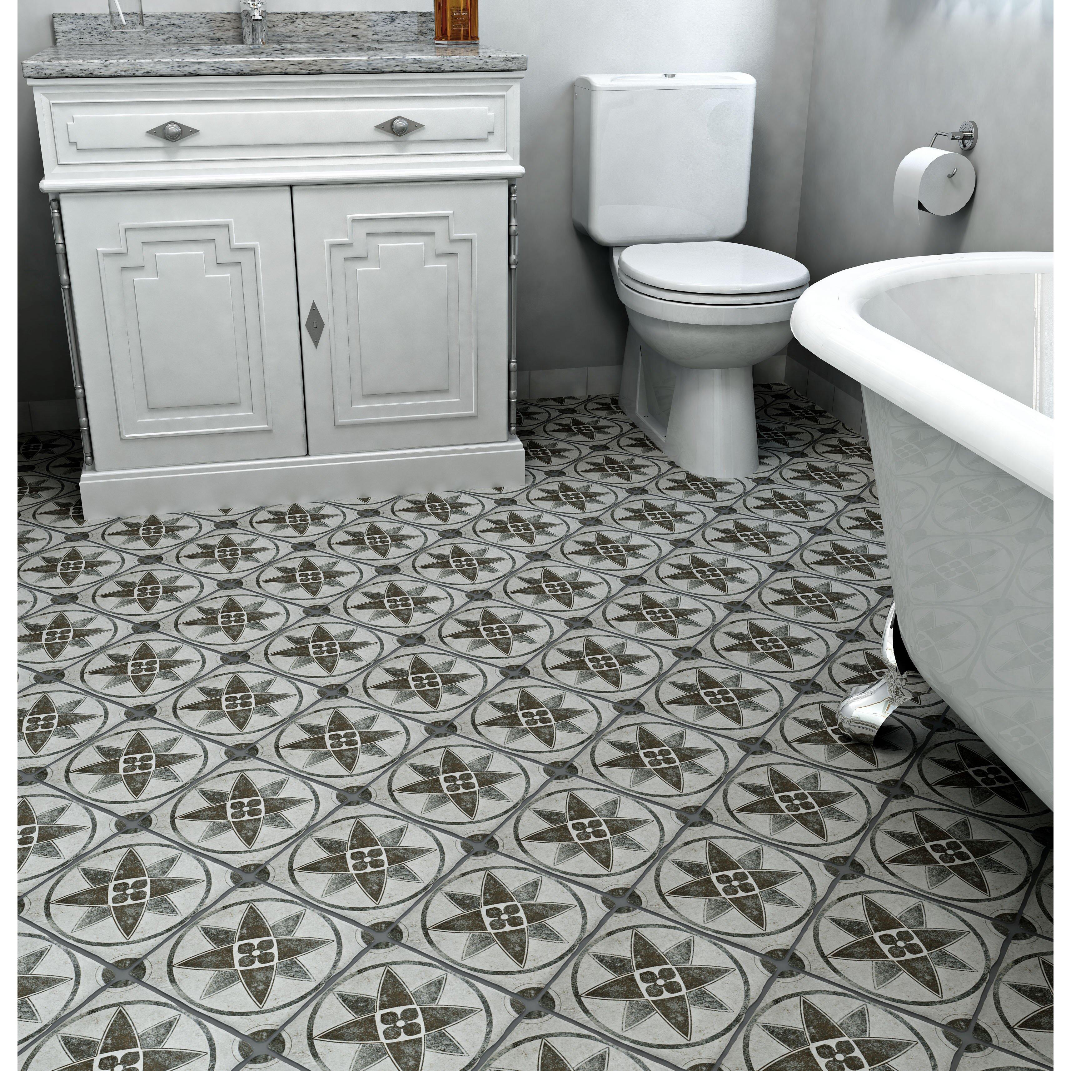 Diego 7 75 Quot X 7 75 Quot Ceramic Field Tile In Cendra D 233 Cor
