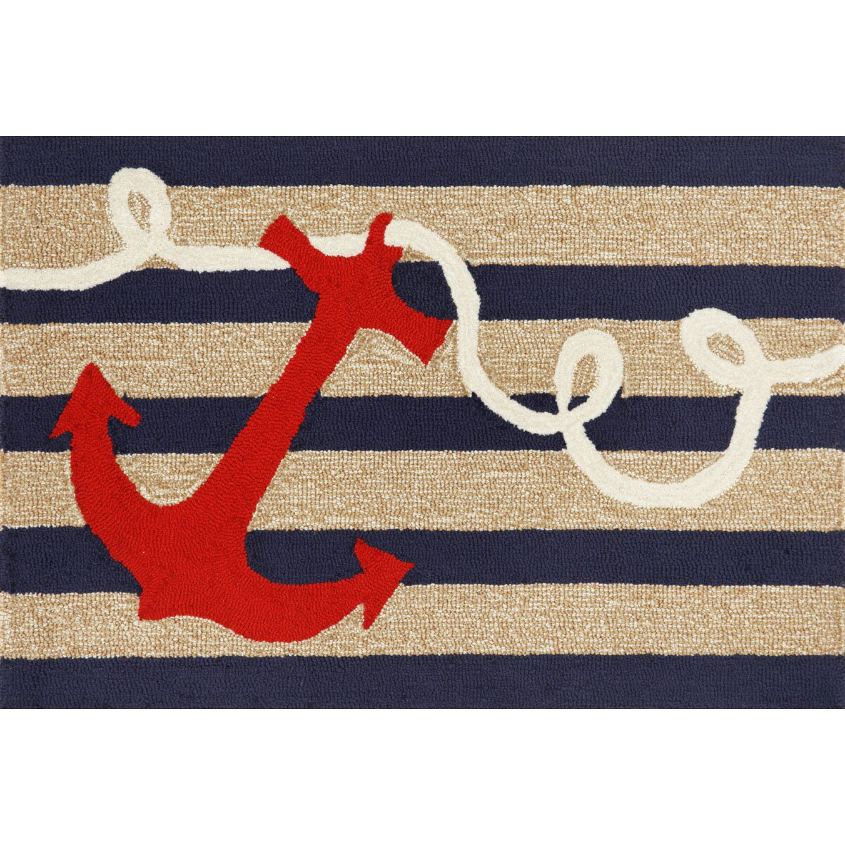 Anchor Rugs: Liora Manne Frontporch Anchor Area Rug & Reviews