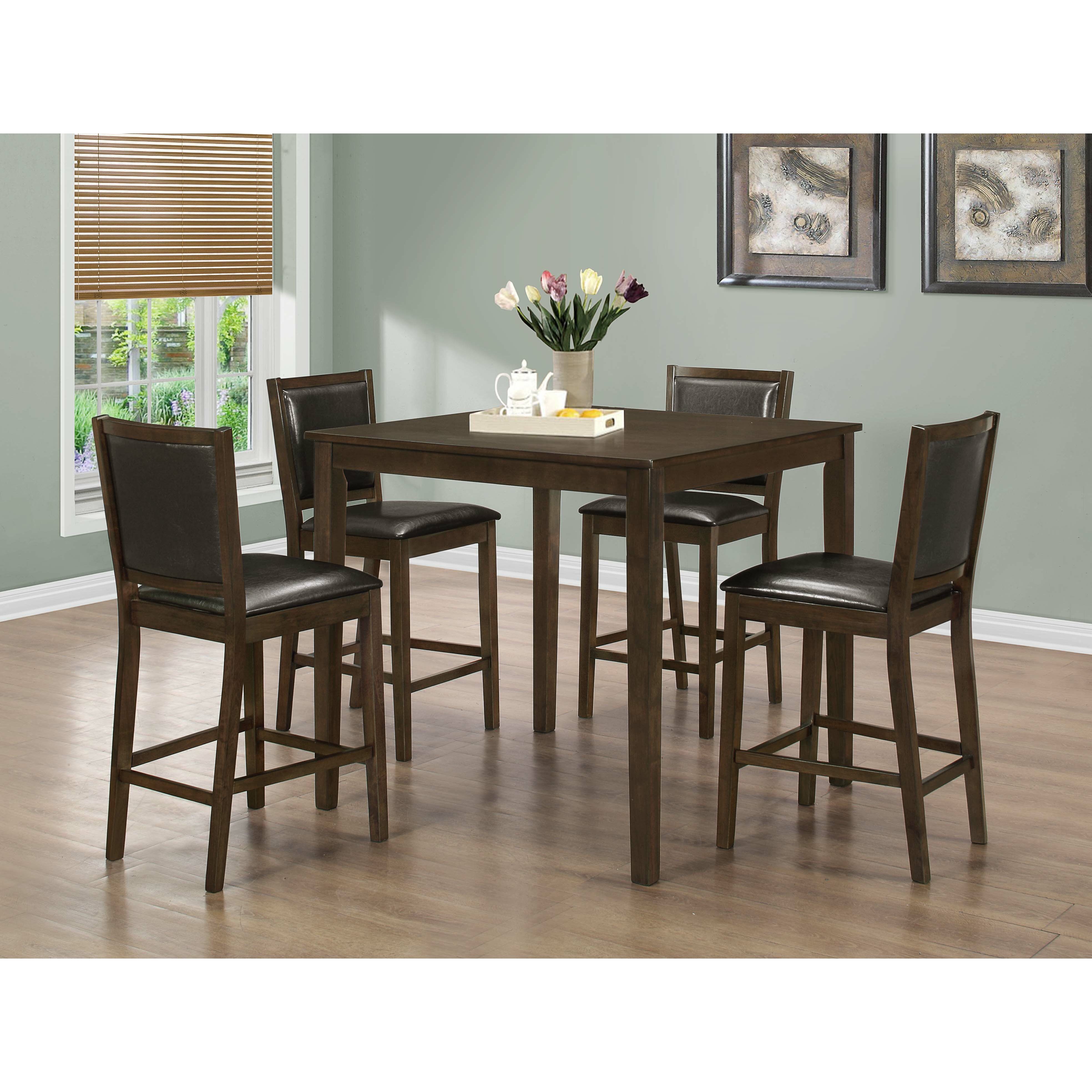 Counter Height Dining Sets 5 Piece : Monarch Specialties Inc. 5 Piece Counter Height Dining Set