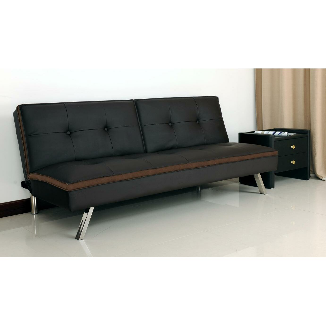 convertible sofa by kathy ireland home by primo