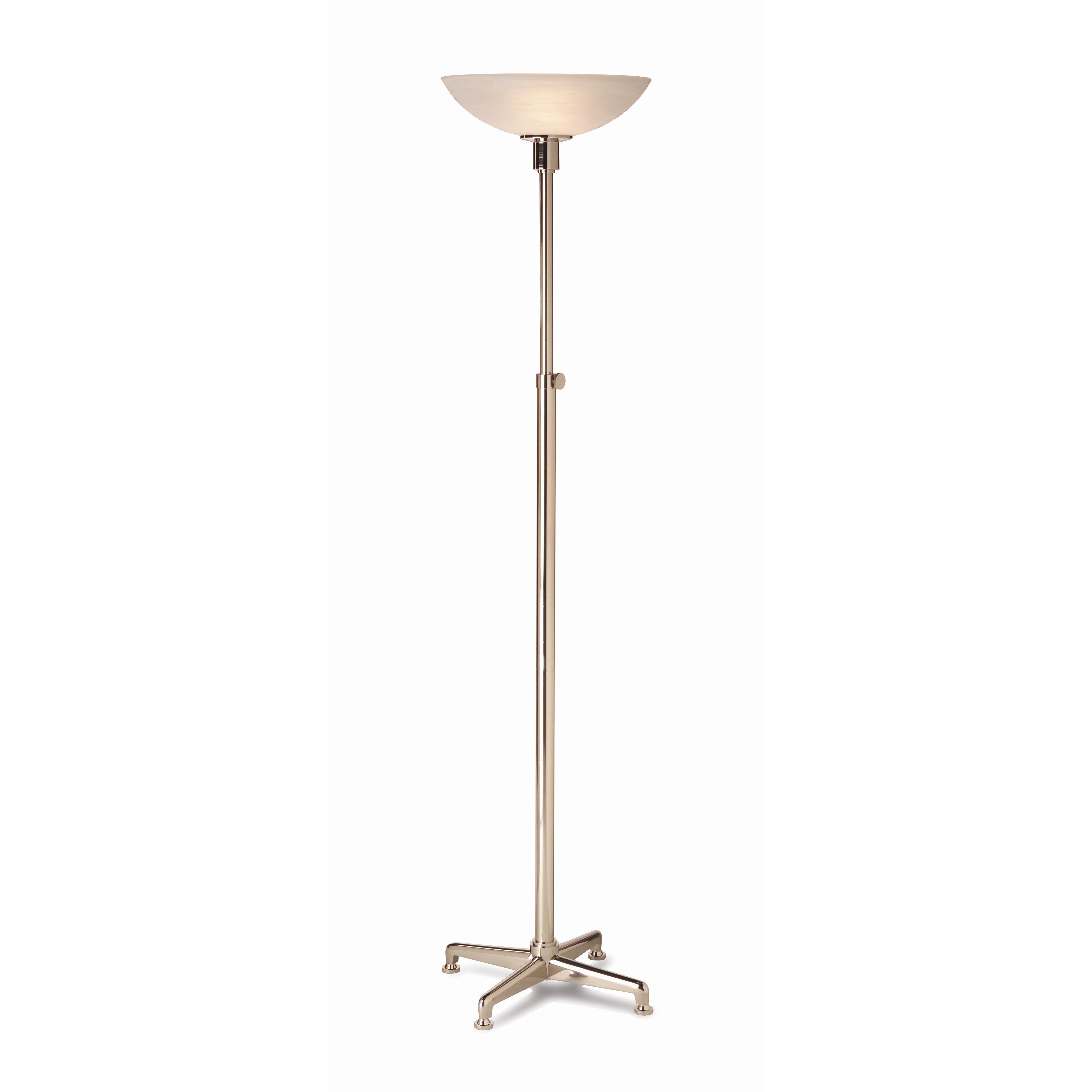 Industrial floor torchier lamp wayfair for Wayfair industrial lamp