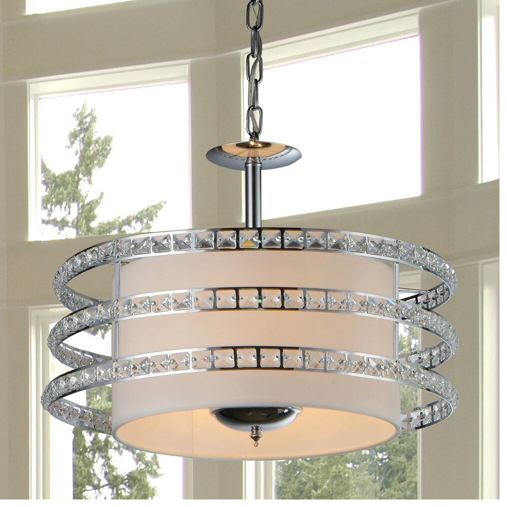 Foyer Lighting Tiffany Style : Warehouse of tiffany saturn light crystal drum foyer