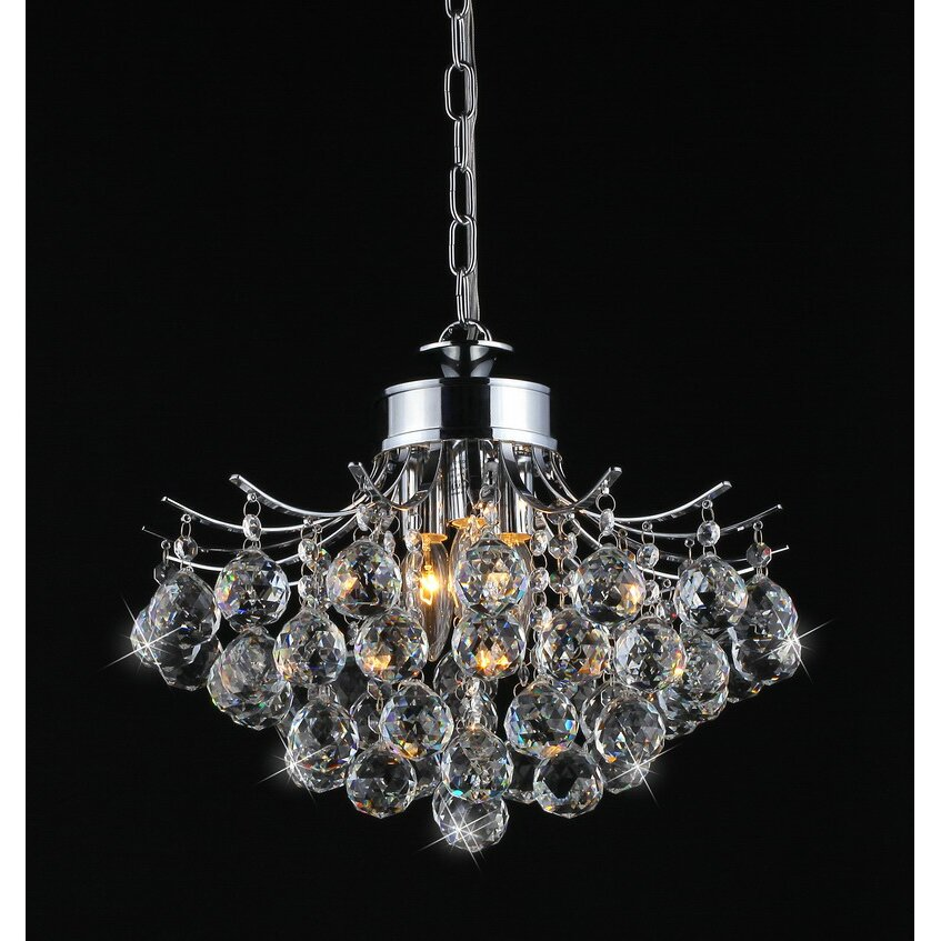 Warehouse Of Tiffany Boadicea Crystal Chandelier & Reviews