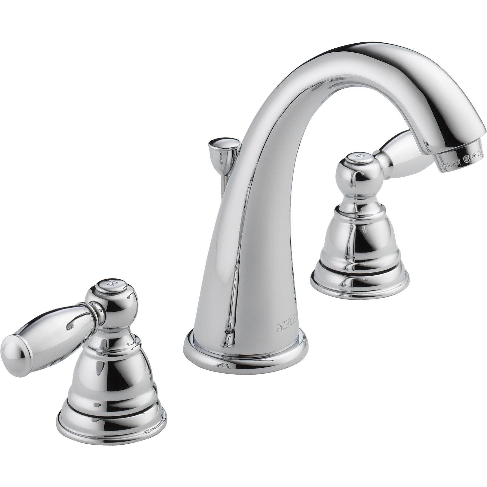 Peerless Kitchen Faucets: Peerless Faucets Widespread Bathroom Faucet With Double