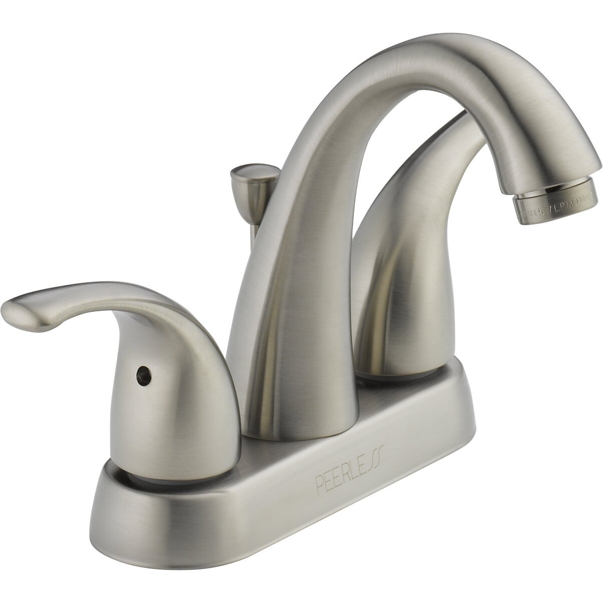 Peerless Faucets Centerset Bathroom Faucet With Double