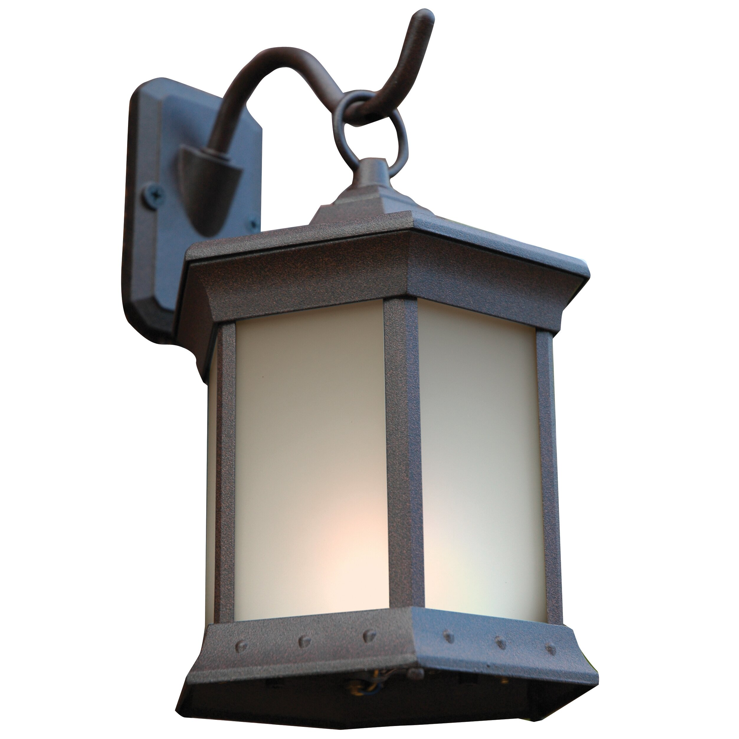 The Outdoor Greatroom Company 1 Light Outdoor Wall Lantern Reviews Wayfair
