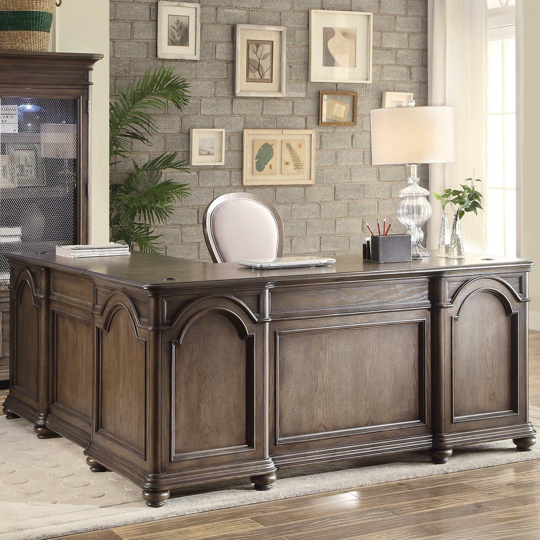 Riverside Furniture Belmeade Executive Desk With Return