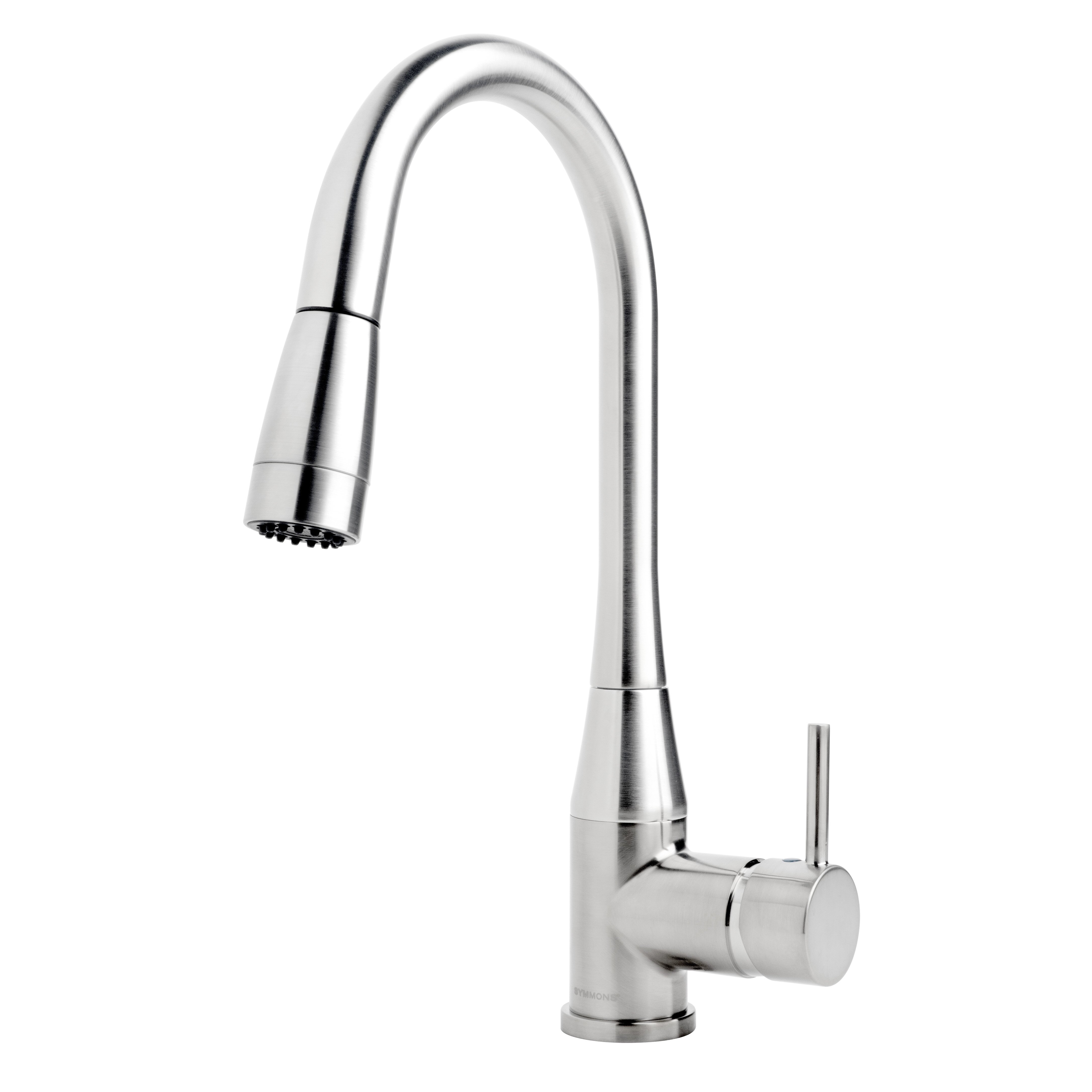 Symmons Sereno Single Handle Deck Mounted Kitchen Faucet