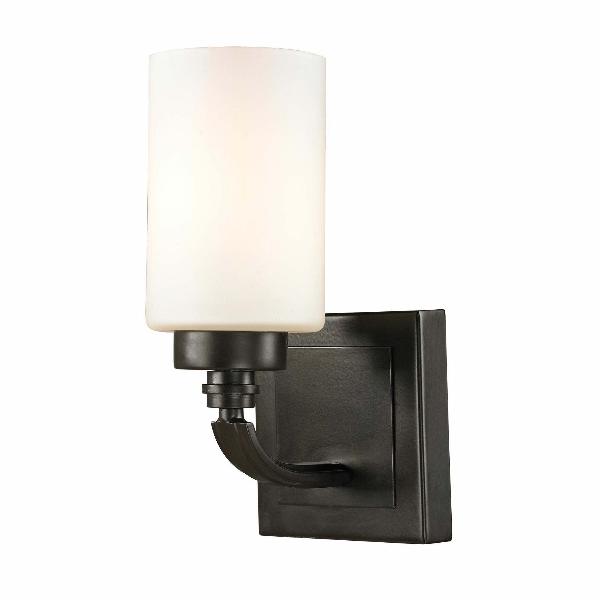 Elk lighting dawson 1 light bath vanity light reviews for Elk bathroom lighting