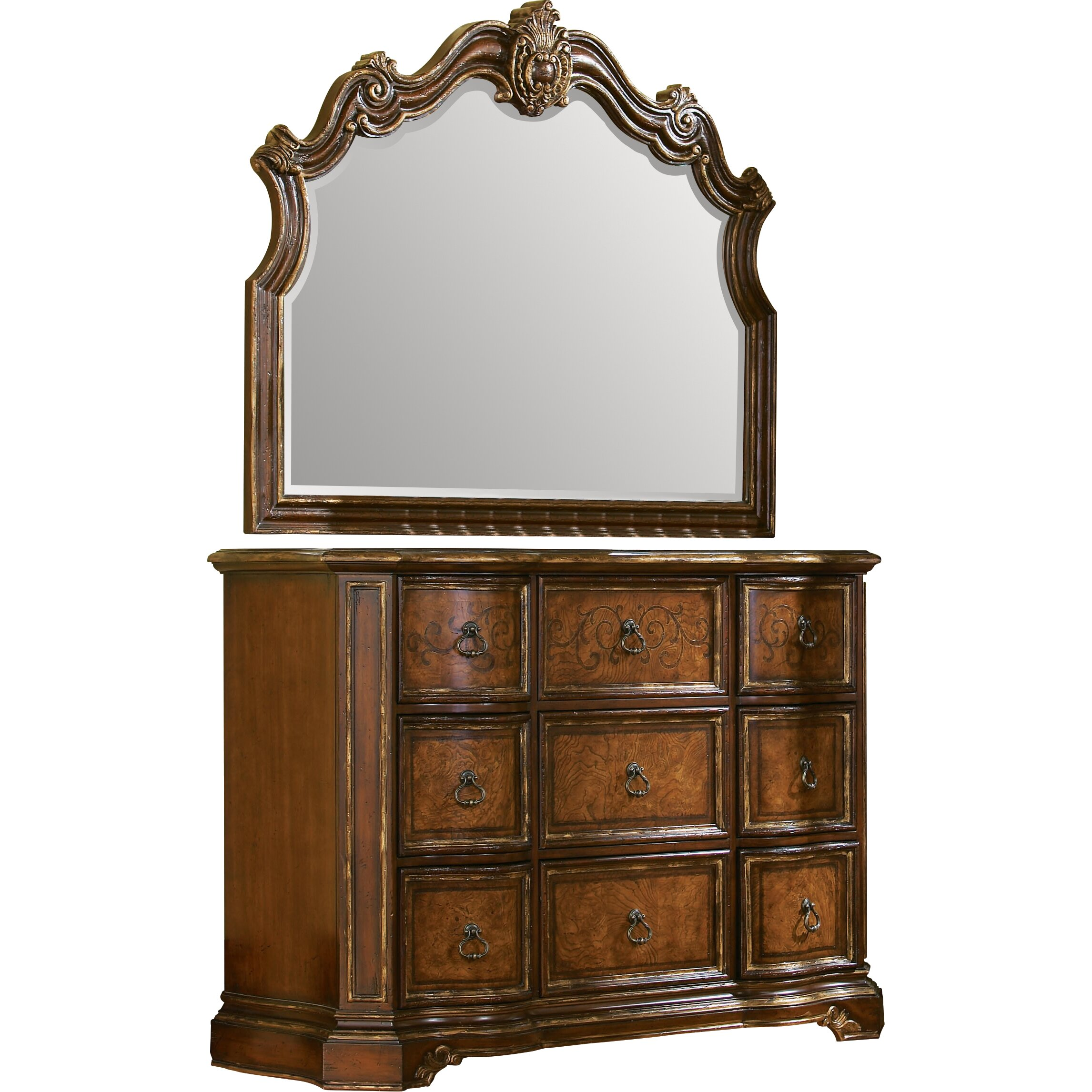 Hooker furniture beladora 9 drawer mule chest reviews for Beladora bedroom set