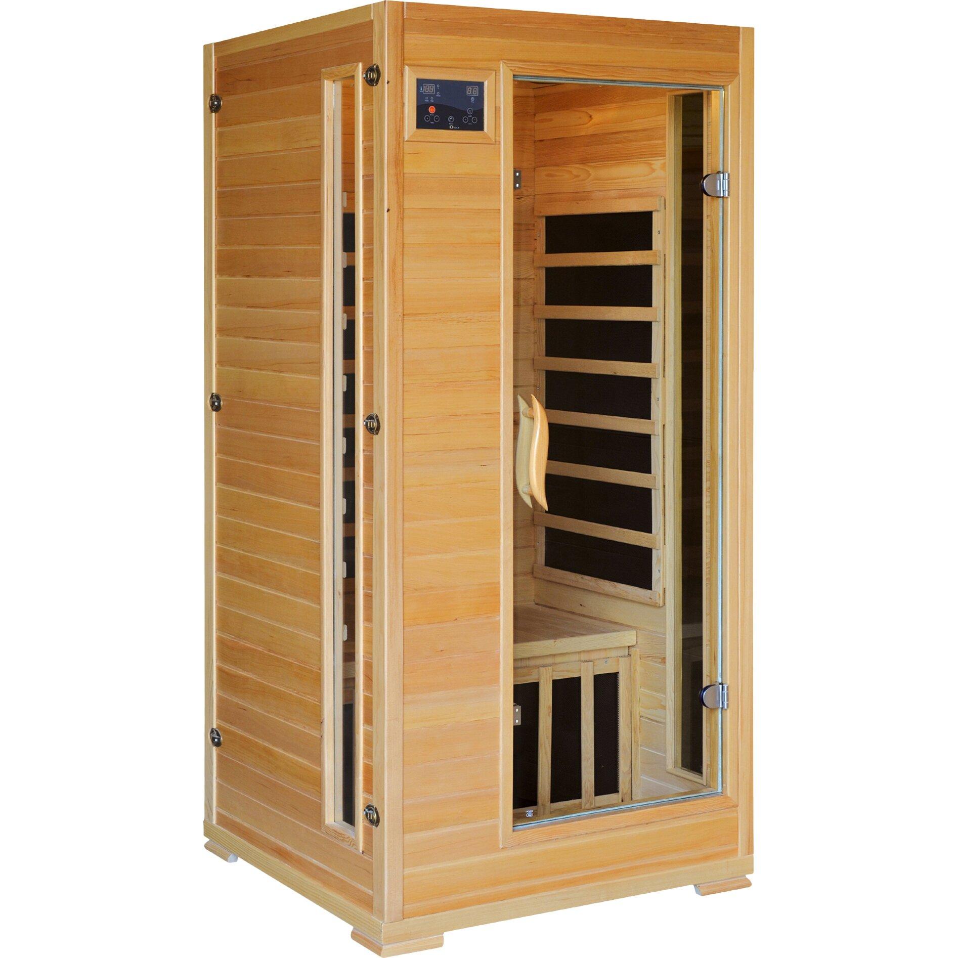 Single infrared sauna