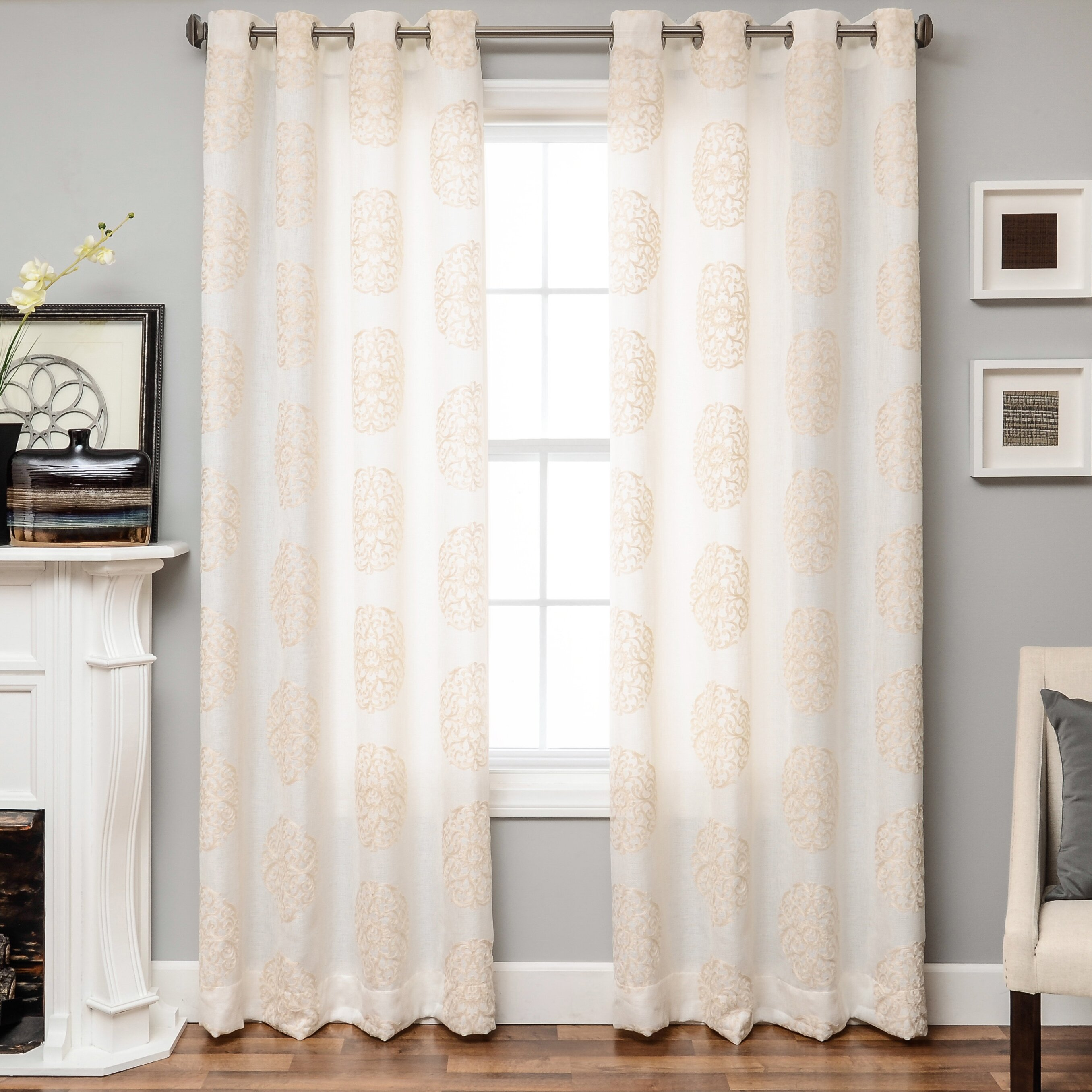 Whispers Northfield Opening Times Softline Home Fashions Whisper Curtain Panel Winmd