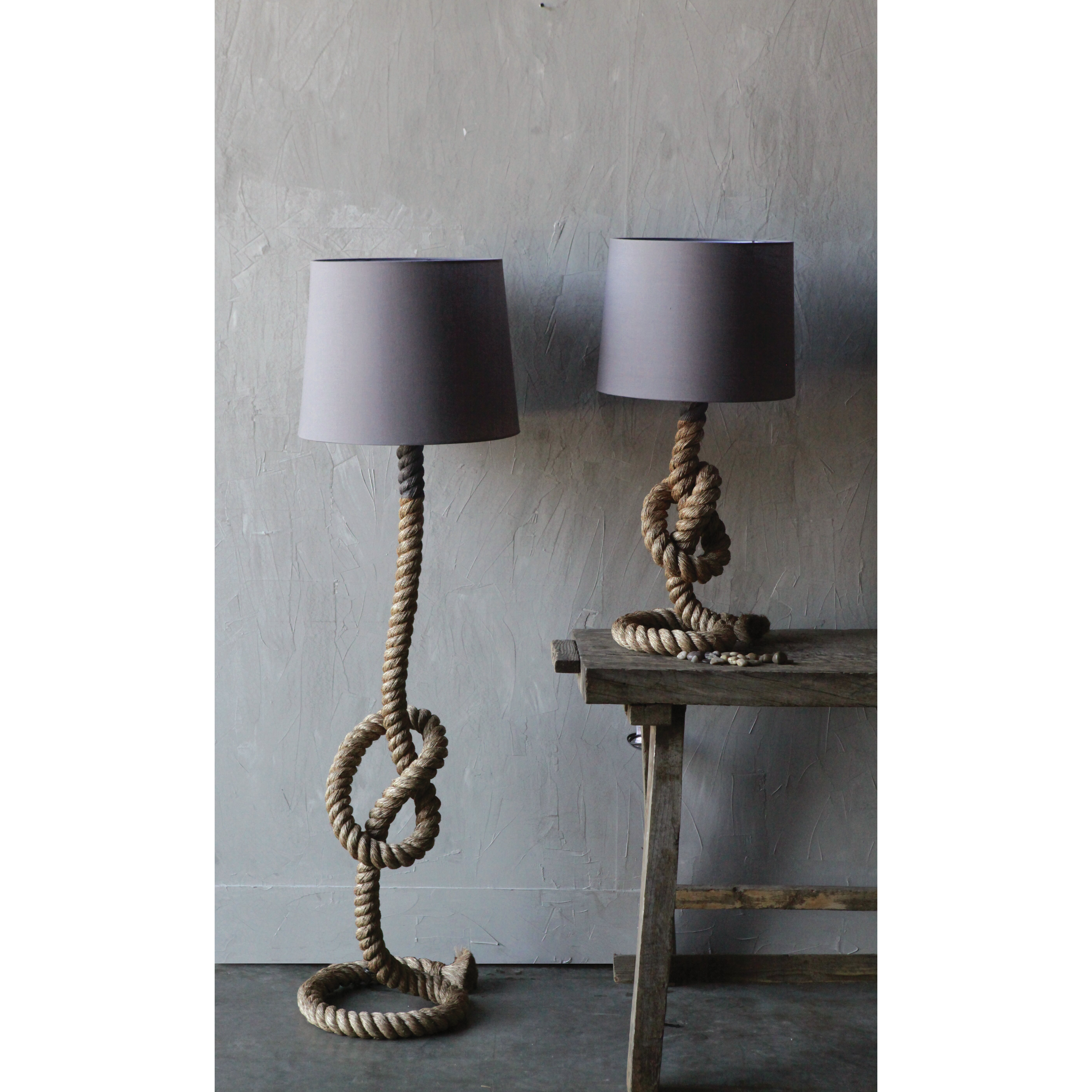 28 creative table lamps woodland imports classy and creative table lamps creative co op waterside rope 32 quot h table lamp with drum